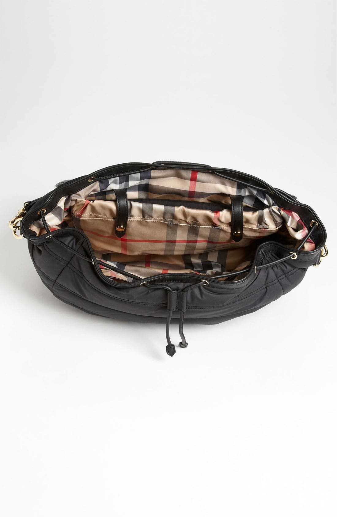 Alternate Image 3  - Burberry Quilted Diaper Bag