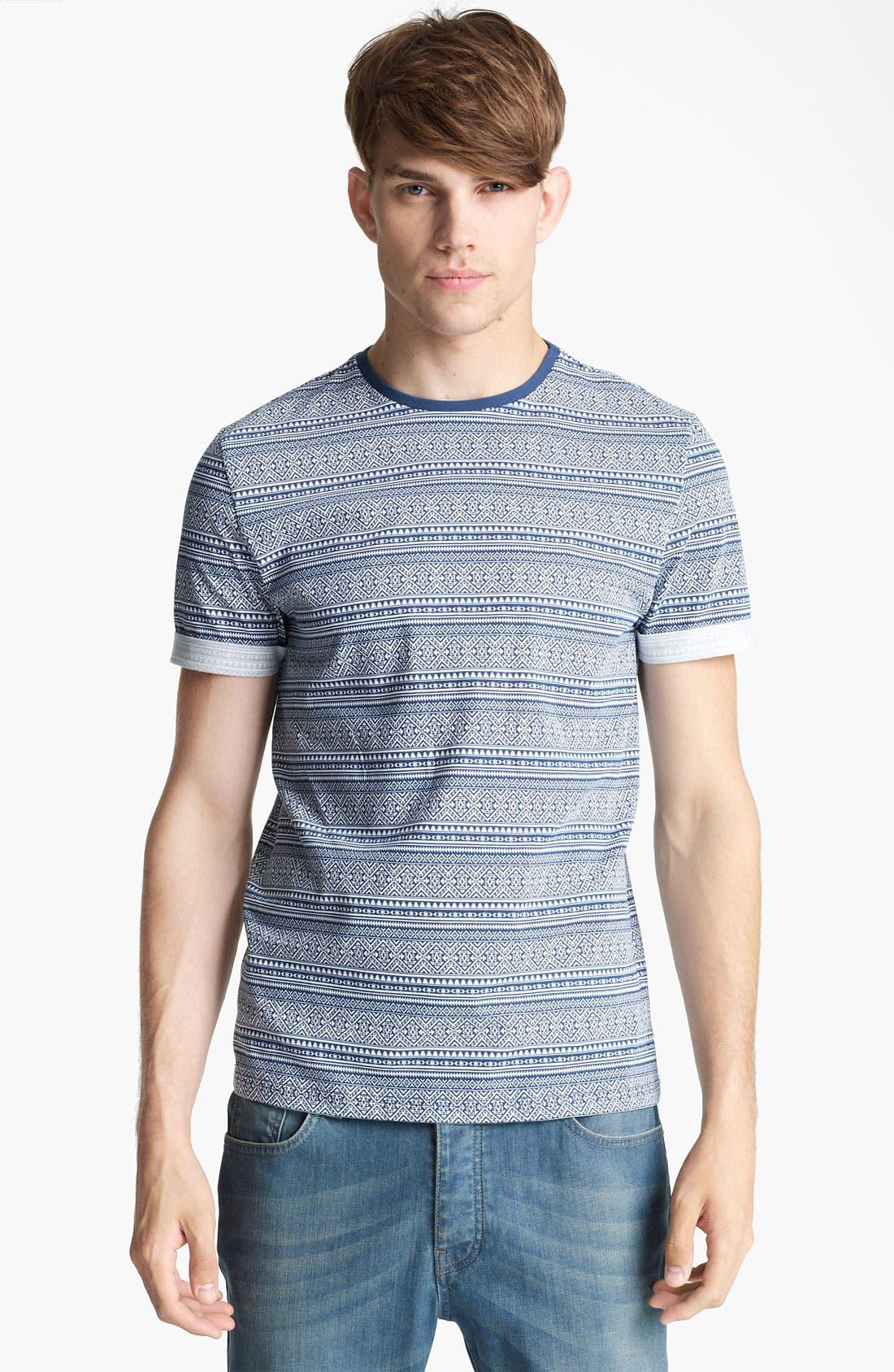 Main Image - Topman Mini Aztec Pattern T-Shirt