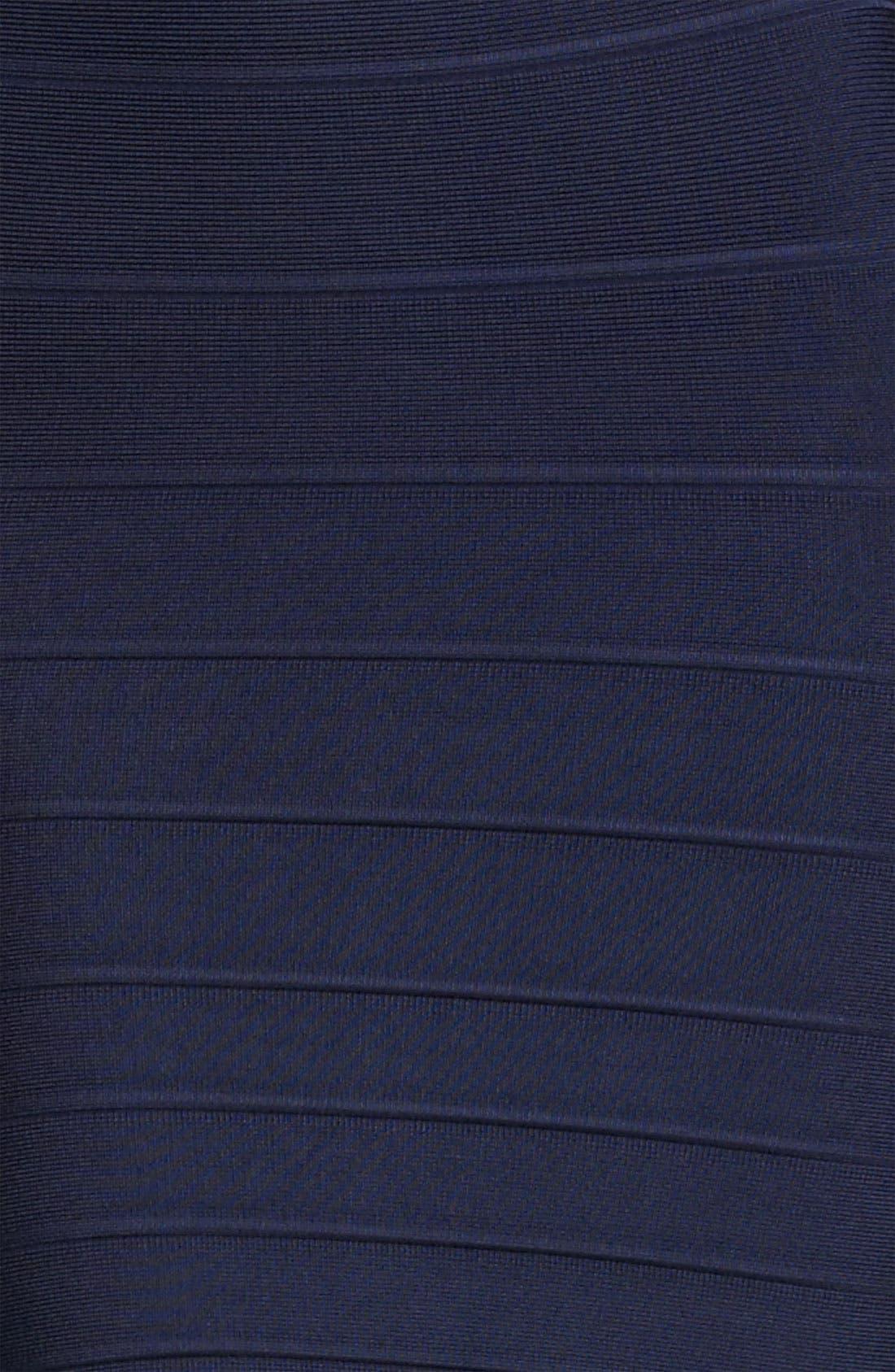 Alternate Image 3  - Herve Leger Cap Sleeve Bandage Dress