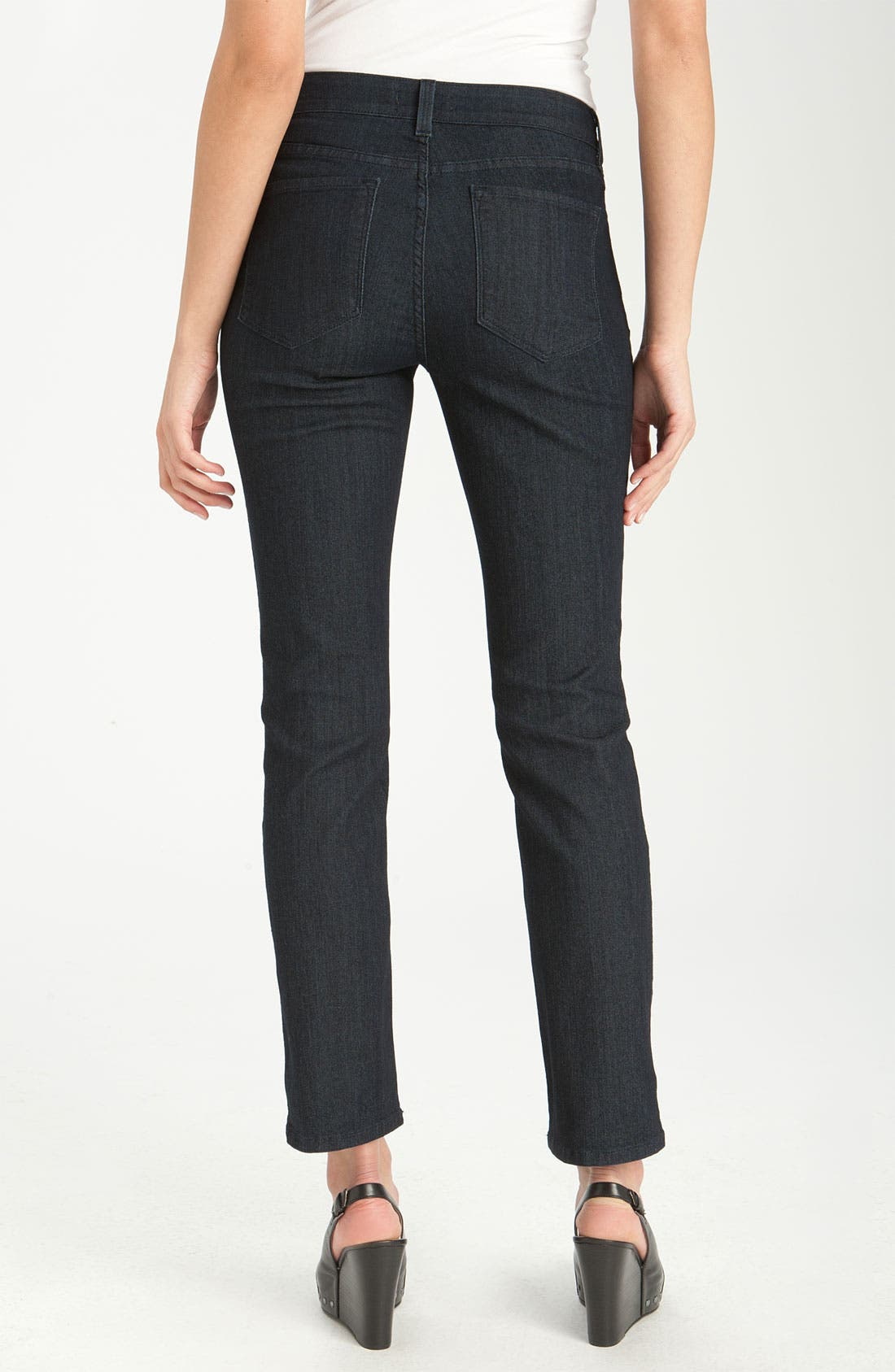 Alternate Image 2  - NYDJ 'Sheri' Skinny Stretch Jeans (Petite)