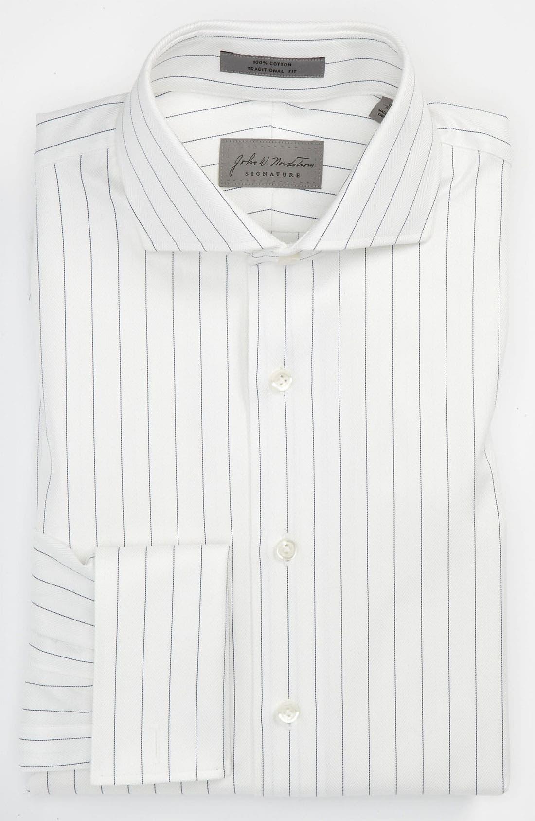 Main Image - John W. Nordstrom® Signature Traditional Fit Dress Shirt