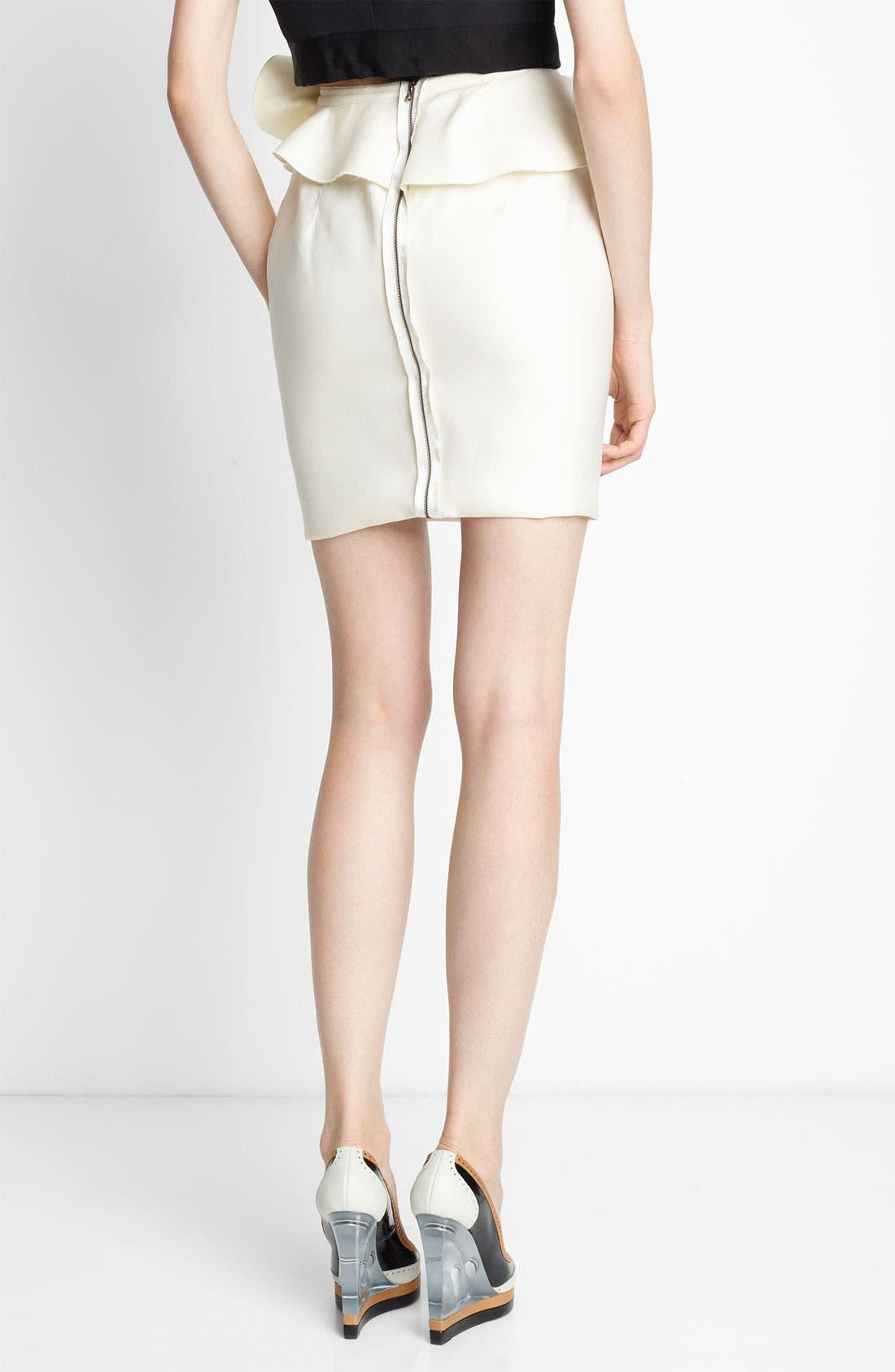 Alternate Image 2  - Lanvin Ruffled Silk Gazar Skirt