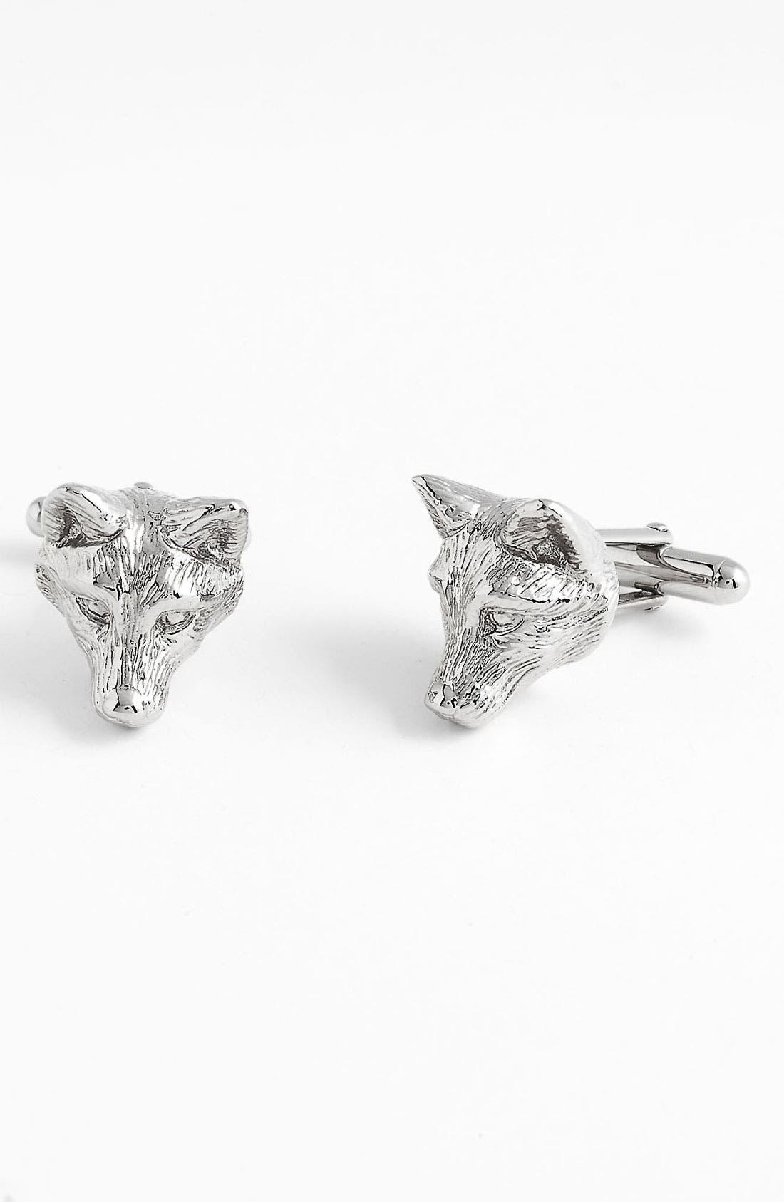 Main Image - Burberry 'Fox' Cuff Links