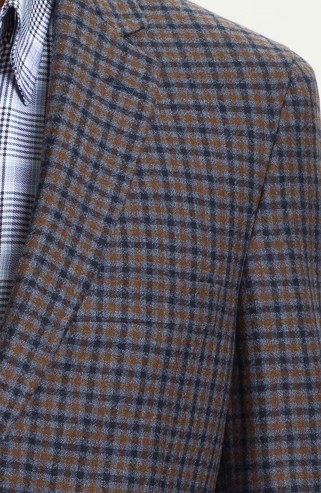 Alternate Image 3  - Peter Millar Wool & Cashmere Sportcoat