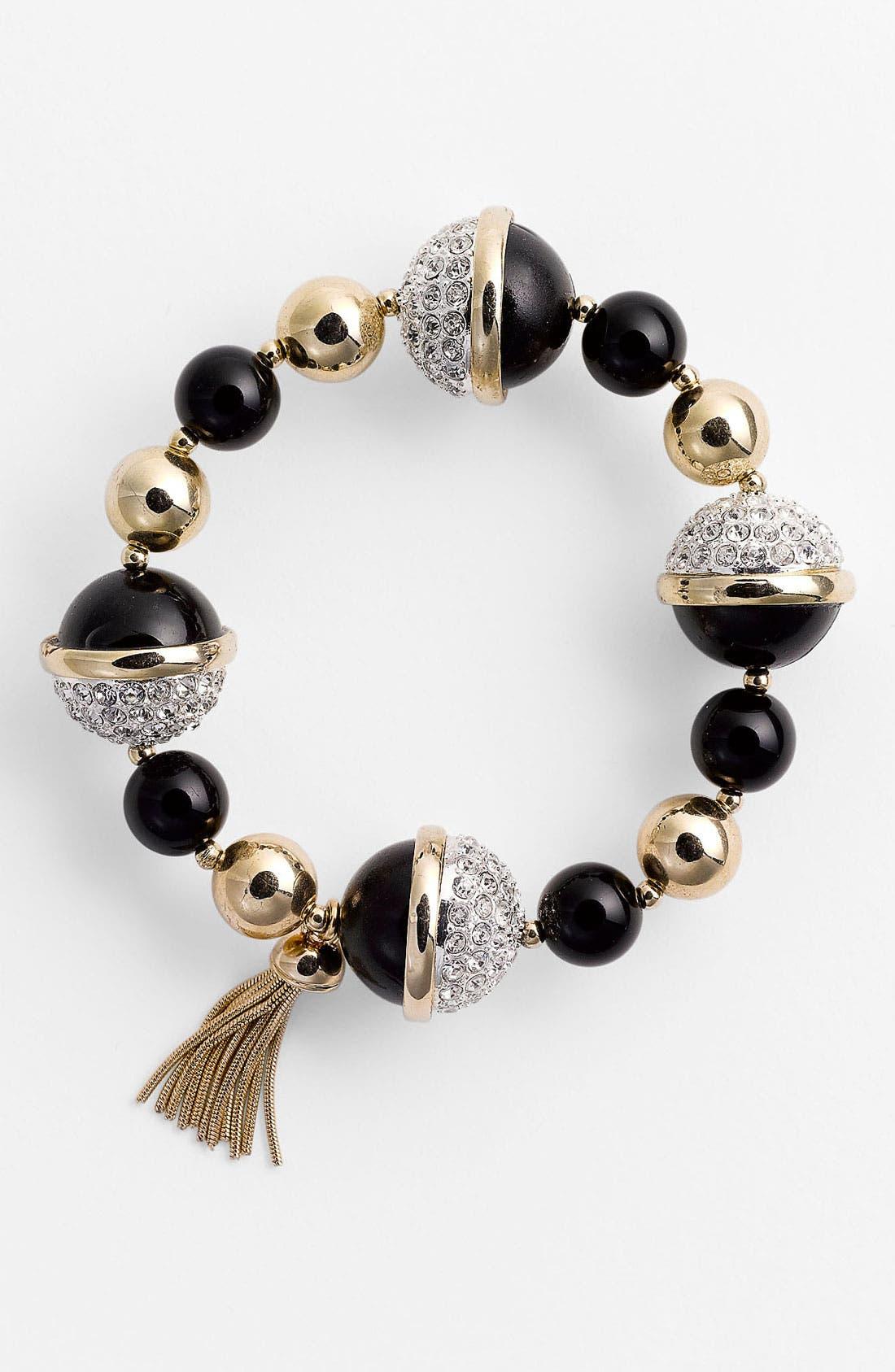 Main Image - Anne Klein Stretch Bracelet