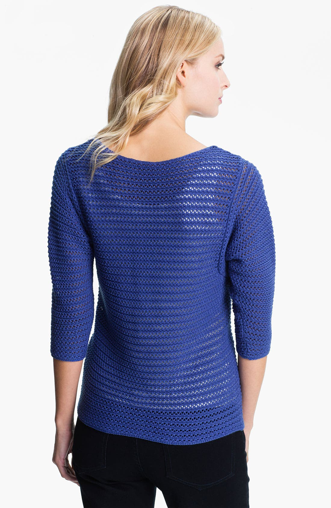 Alternate Image 2  - Holistia 'Eco' Open Stitch Sweater