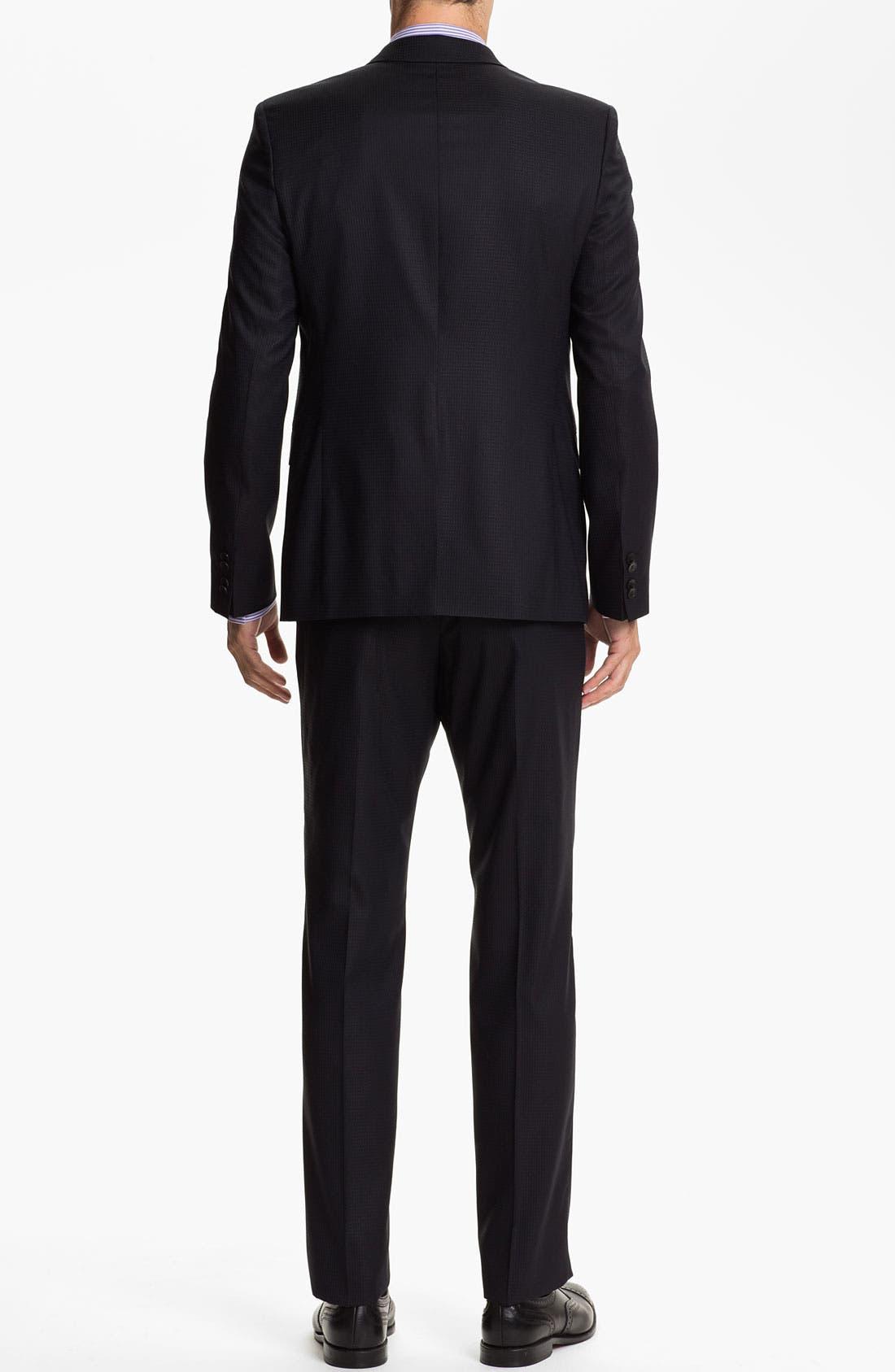 Alternate Image 3  - HUGO 'Aeron/Hamen' Extra Trim Fit Suit