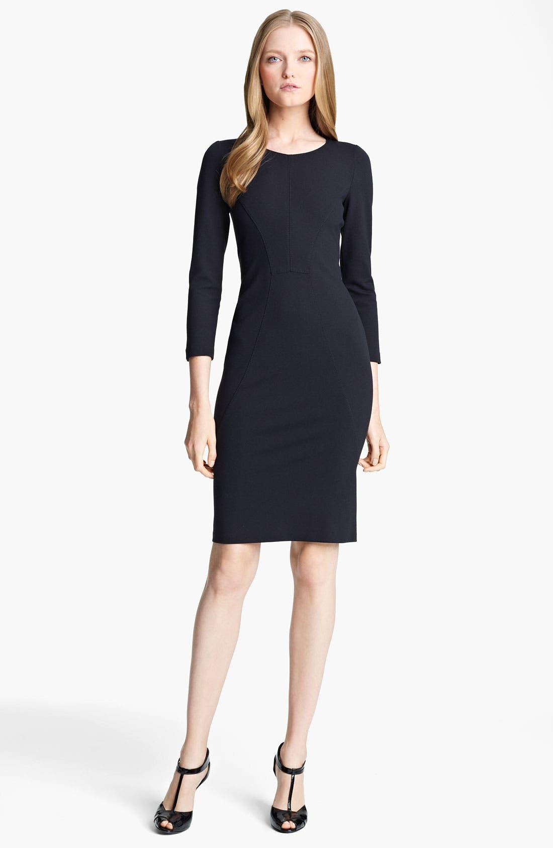 Main Image - Armani Collezioni Jersey Dress