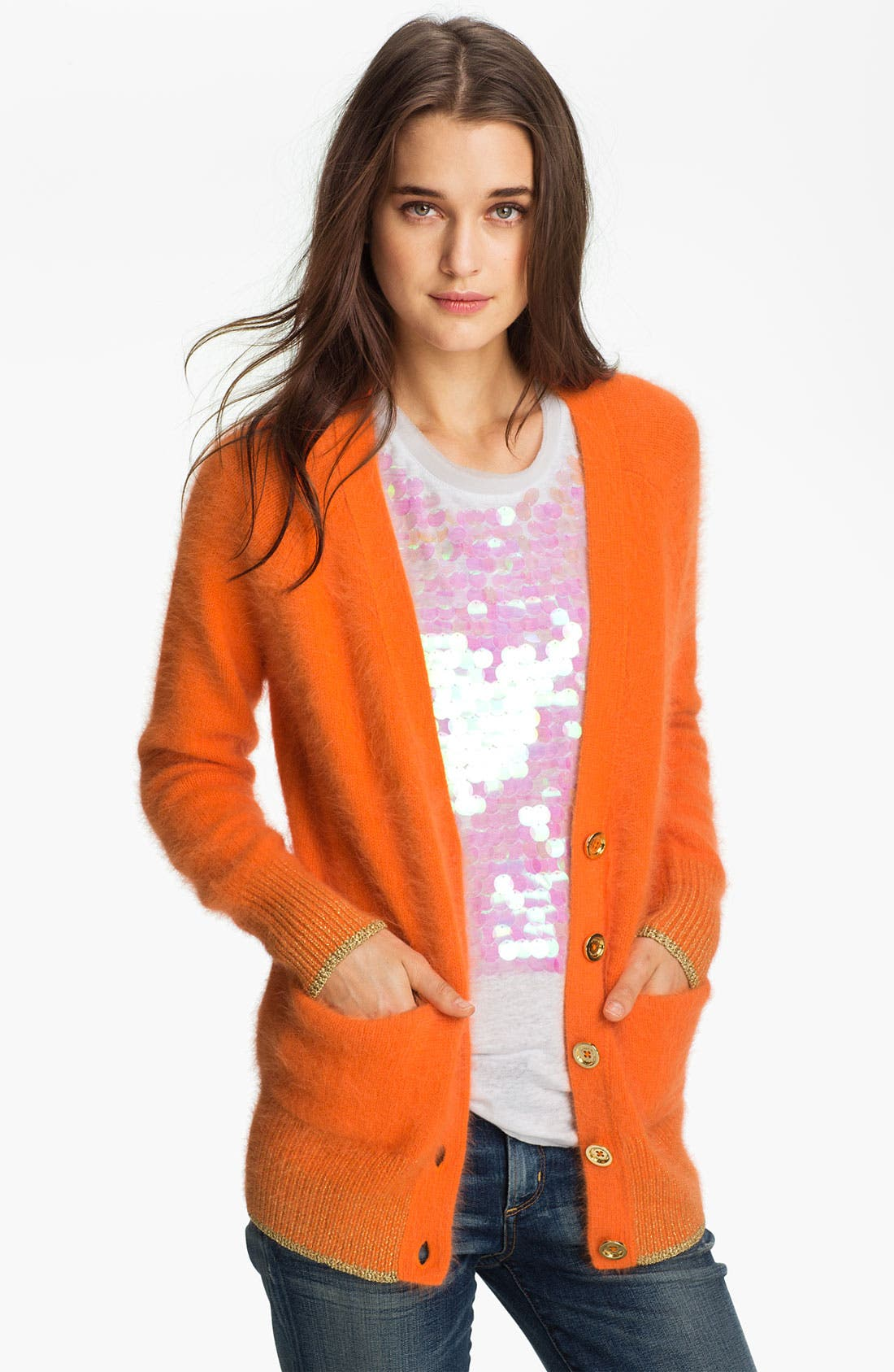Alternate Image 1 Selected - Juicy Couture Angora Cardigan