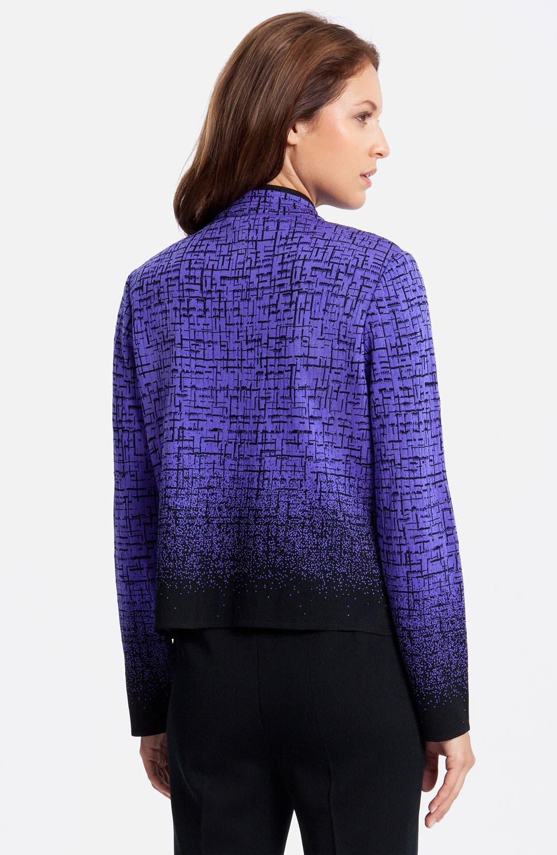 Alternate Image 2  - Ming Wang Mandarin Collar Jacket