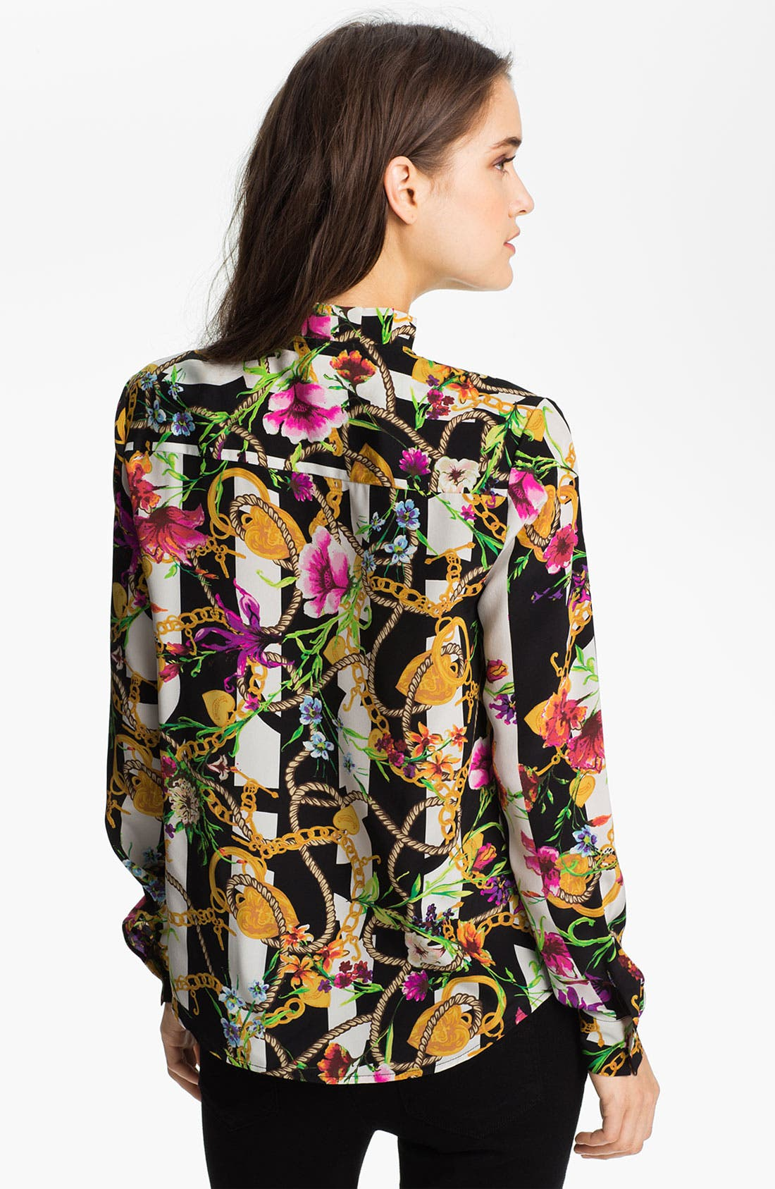 Alternate Image 2  - Juicy Couture Floral Print Shirt