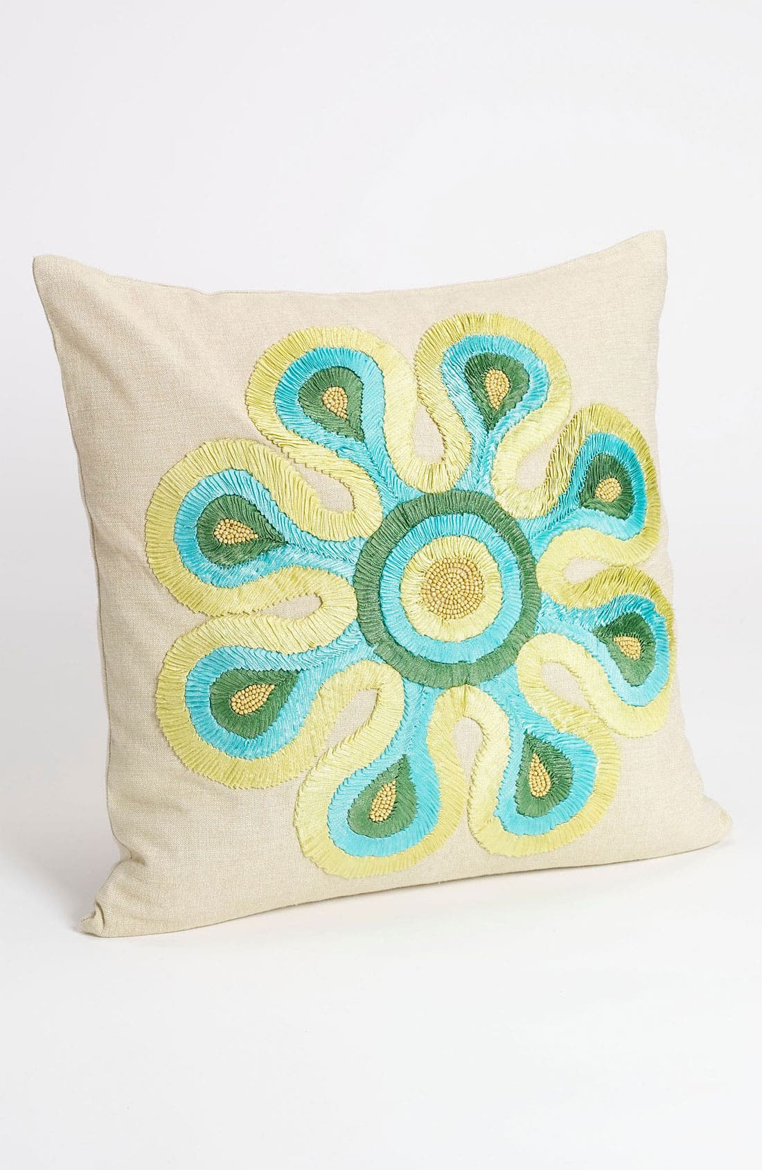 Main Image - Nordstrom at Home 'Ribbon Flower' Pillow Cover