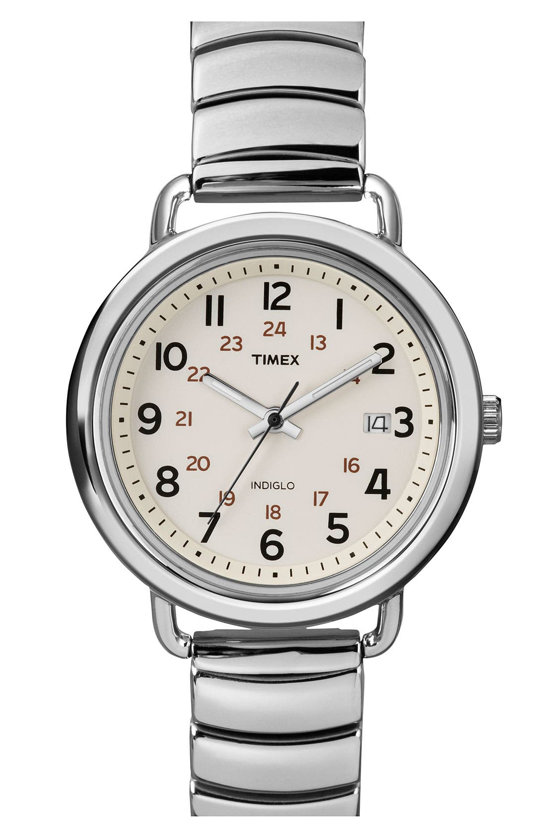 Alternate Image 1 Selected - Timex® 'Camper' Round Bracelet Watch