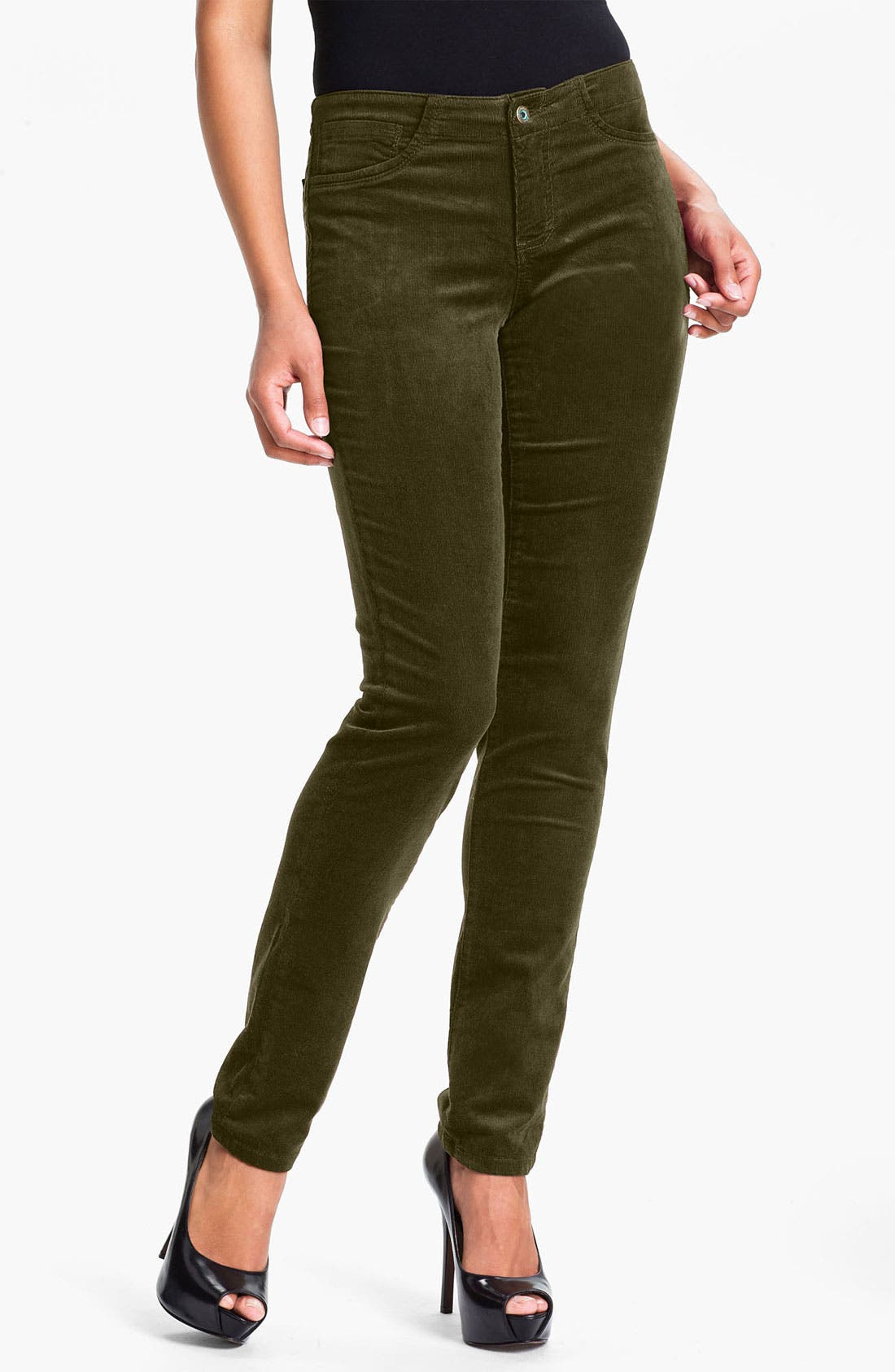 Alternate Image 1 Selected - Christopher Blue 'Angel' Skinny Corduroy Pants