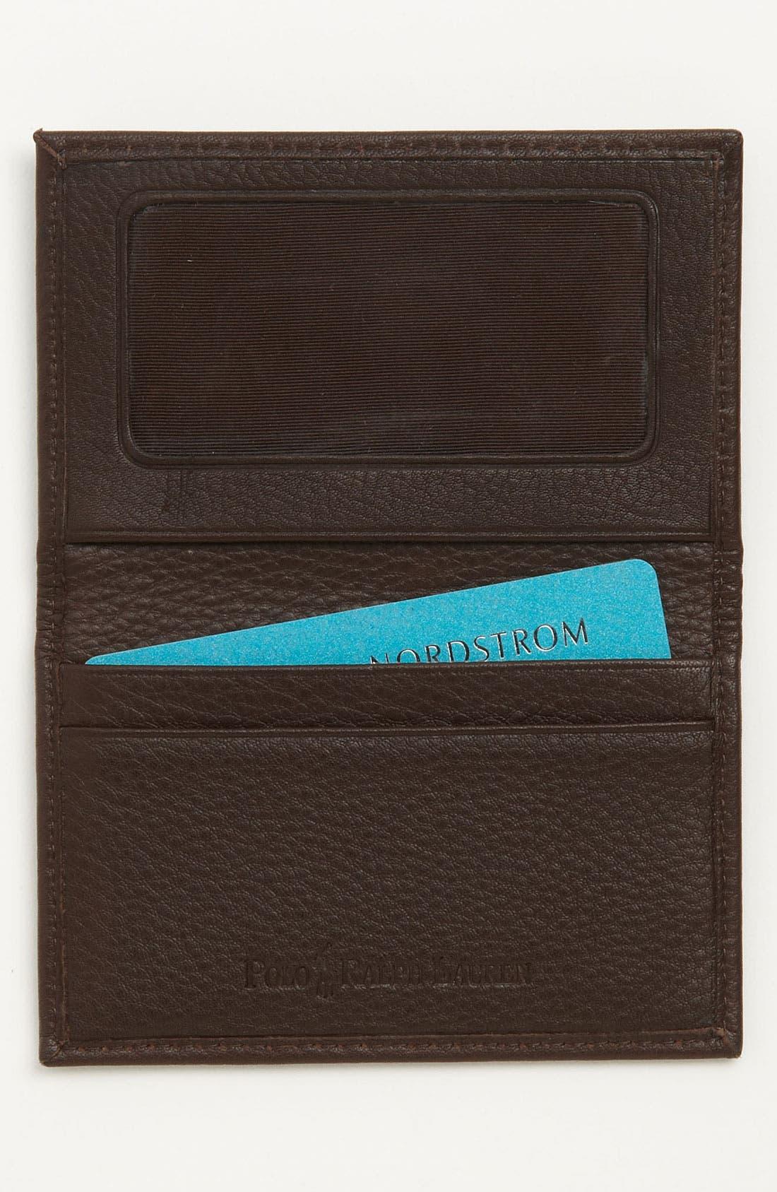 Alternate Image 2  - Polo Ralph Lauren Slim Card Case