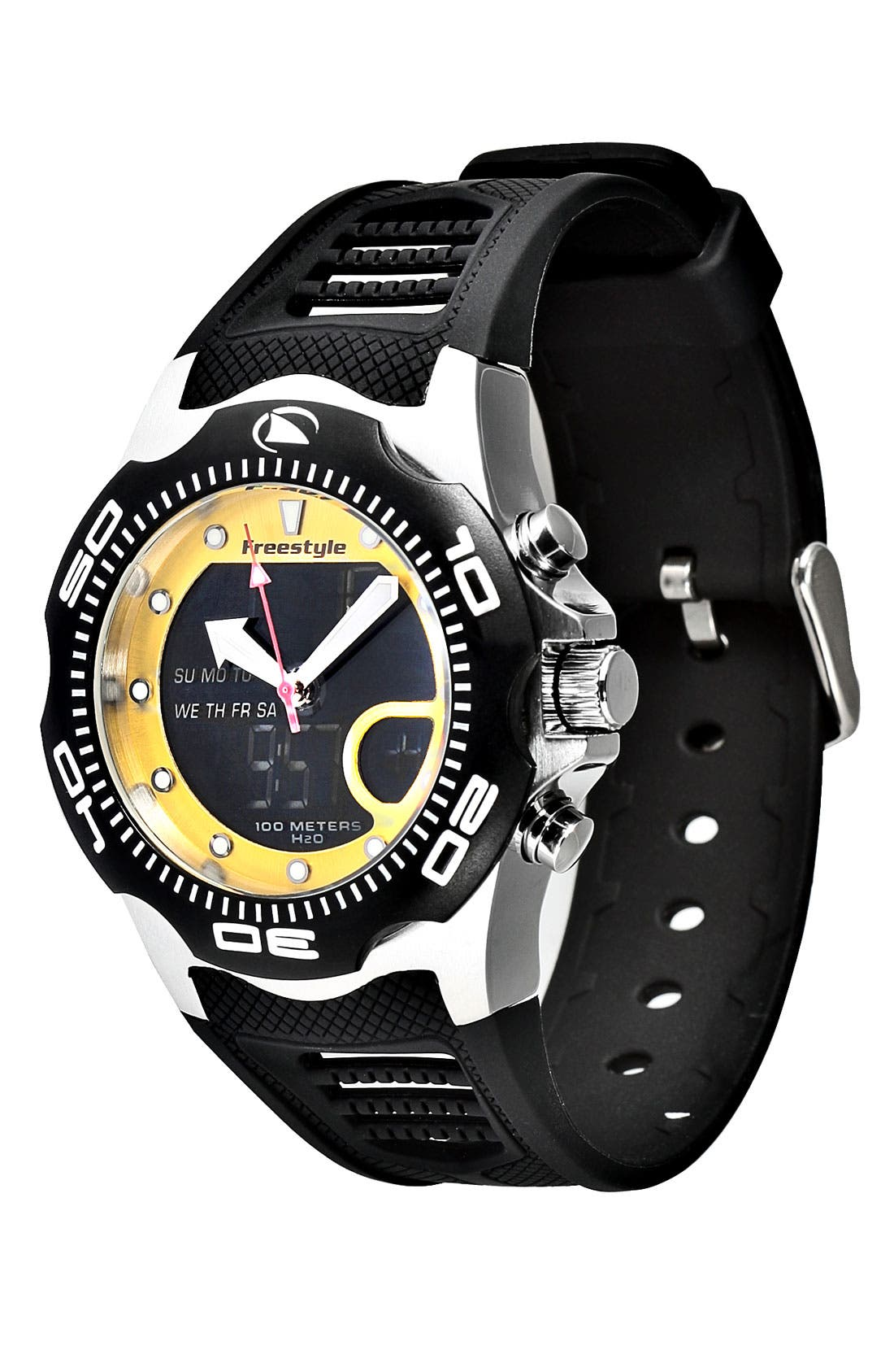 Main Image - Freestyle 'Shark x 2.0' Dual Movement Sport Watch, 42mm
