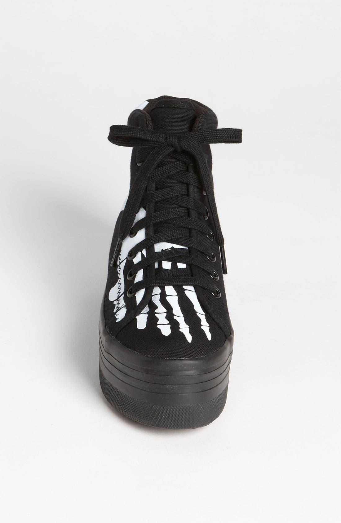 Alternate Image 3  - Jeffrey Campbell 'Homg Skeleton' Sneaker