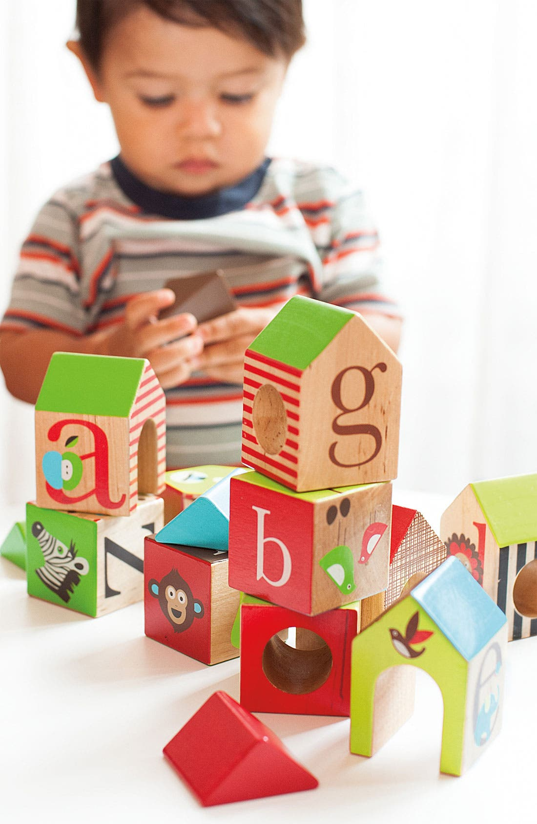 Alternate Image 2  - Skip Hop 'Alphabet Zoo' House Blocks