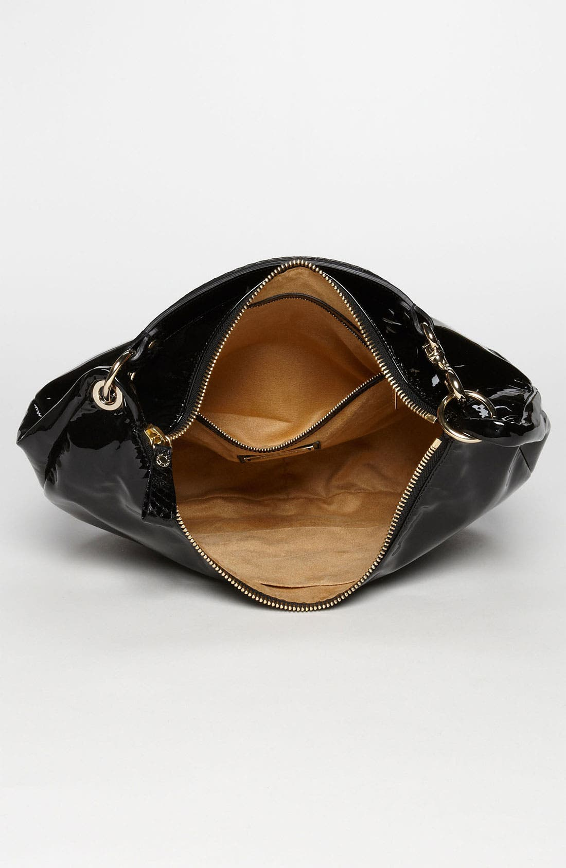 Alternate Image 3  - Jimmy Choo 'Solar - Small' Patent Leather Hobo