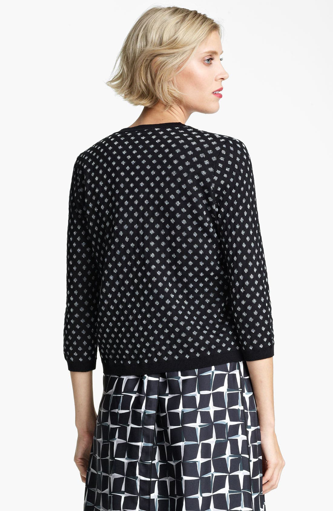 Alternate Image 2  - MARC JACOBS Polka Dot Jacquard Cardigan