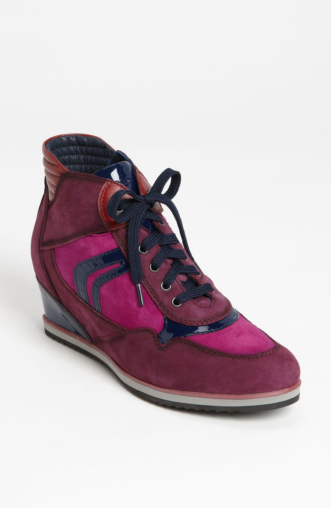 Alternate Image 1 Selected - Geox 'D Illusion' High Top Wedge Sneaker