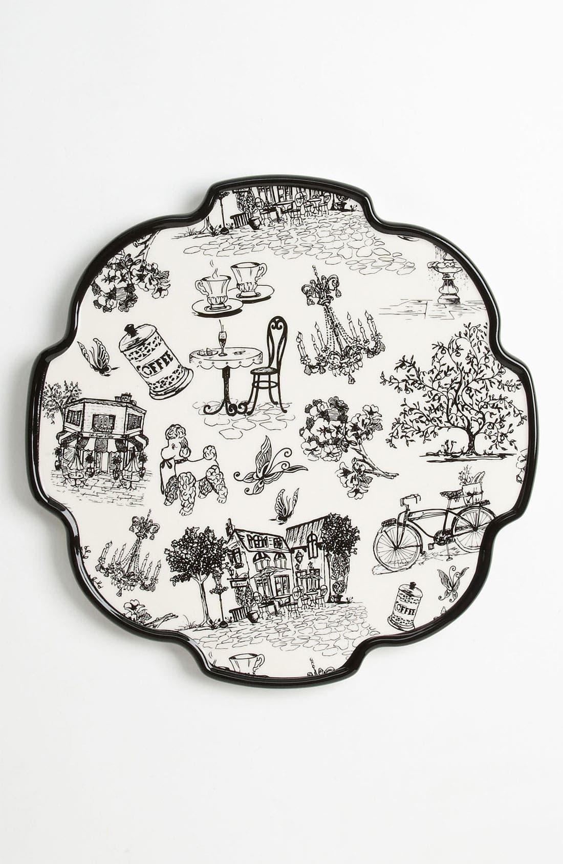 Main Image - Magenta 'Café Toile' Cheese Platter