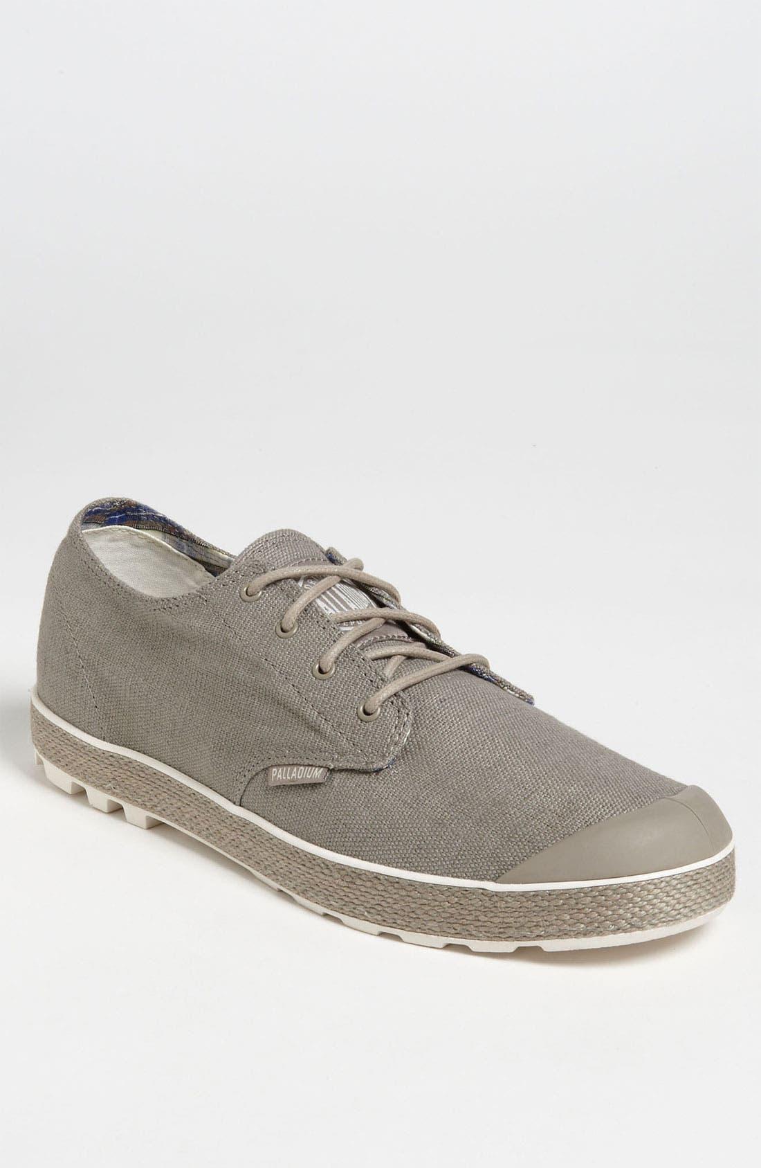 Alternate Image 1 Selected - Palladium Hemp Blend Sneaker