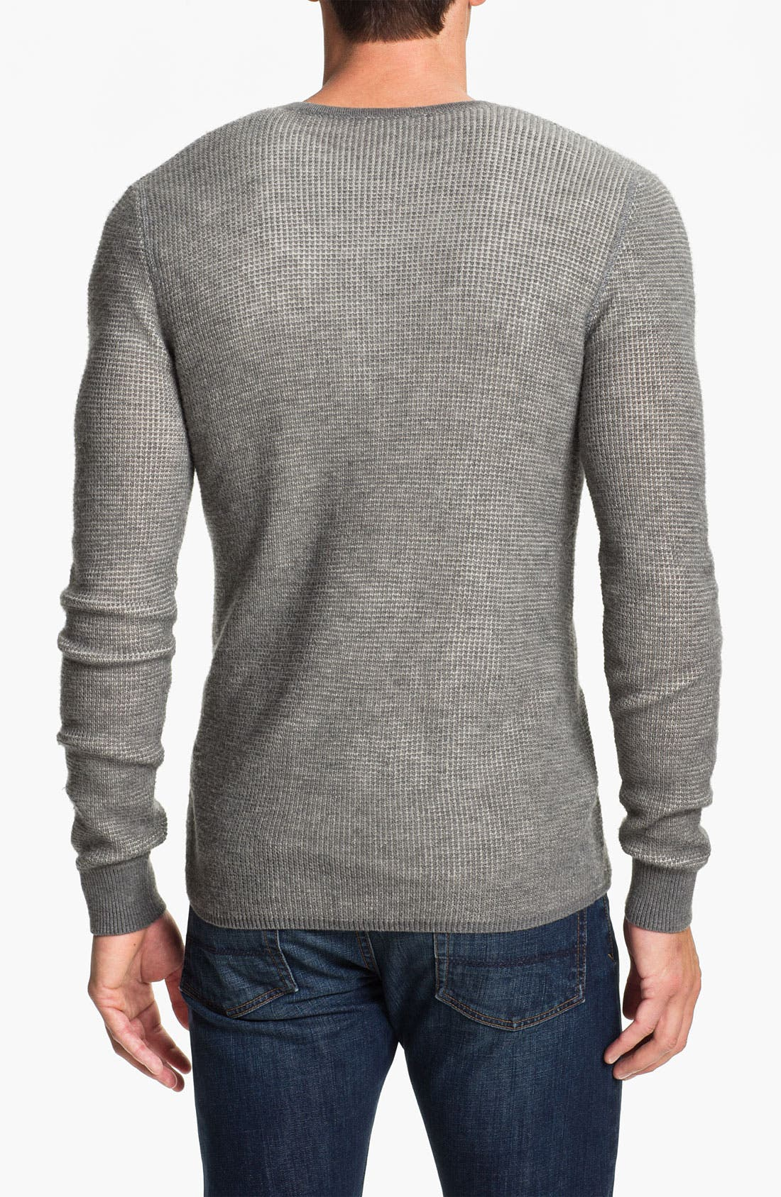 Alternate Image 2  - Vince Long Sleeve Wool Thermal Henley