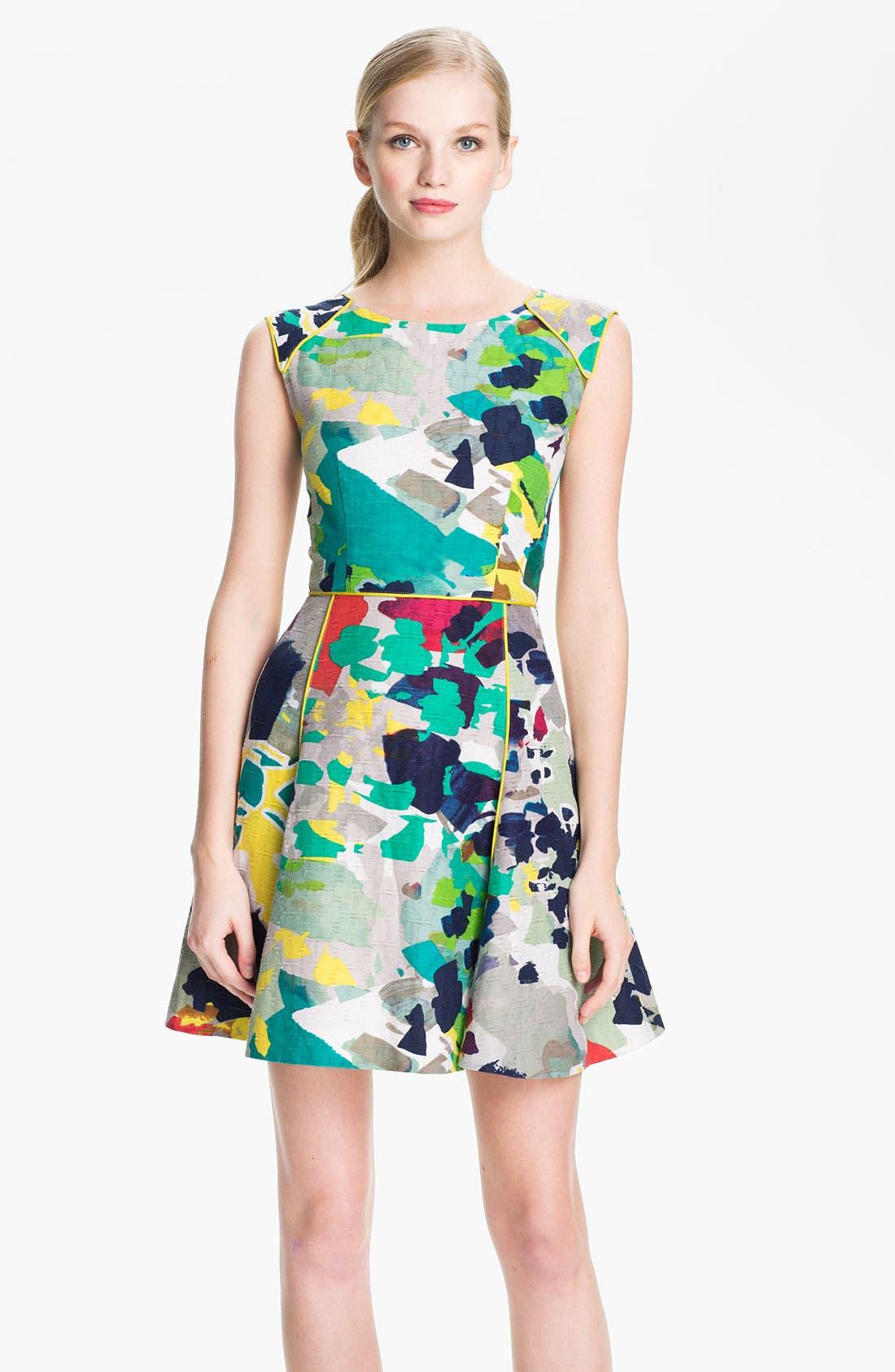 Alternate Image 1 Selected - Rachel Roy Woven A-Line Dress
