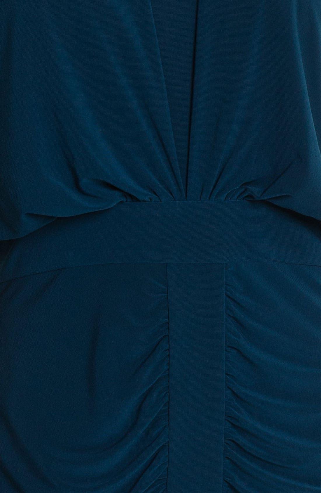 Alternate Image 3  - Adrianna Papell Draped Jersey Dress