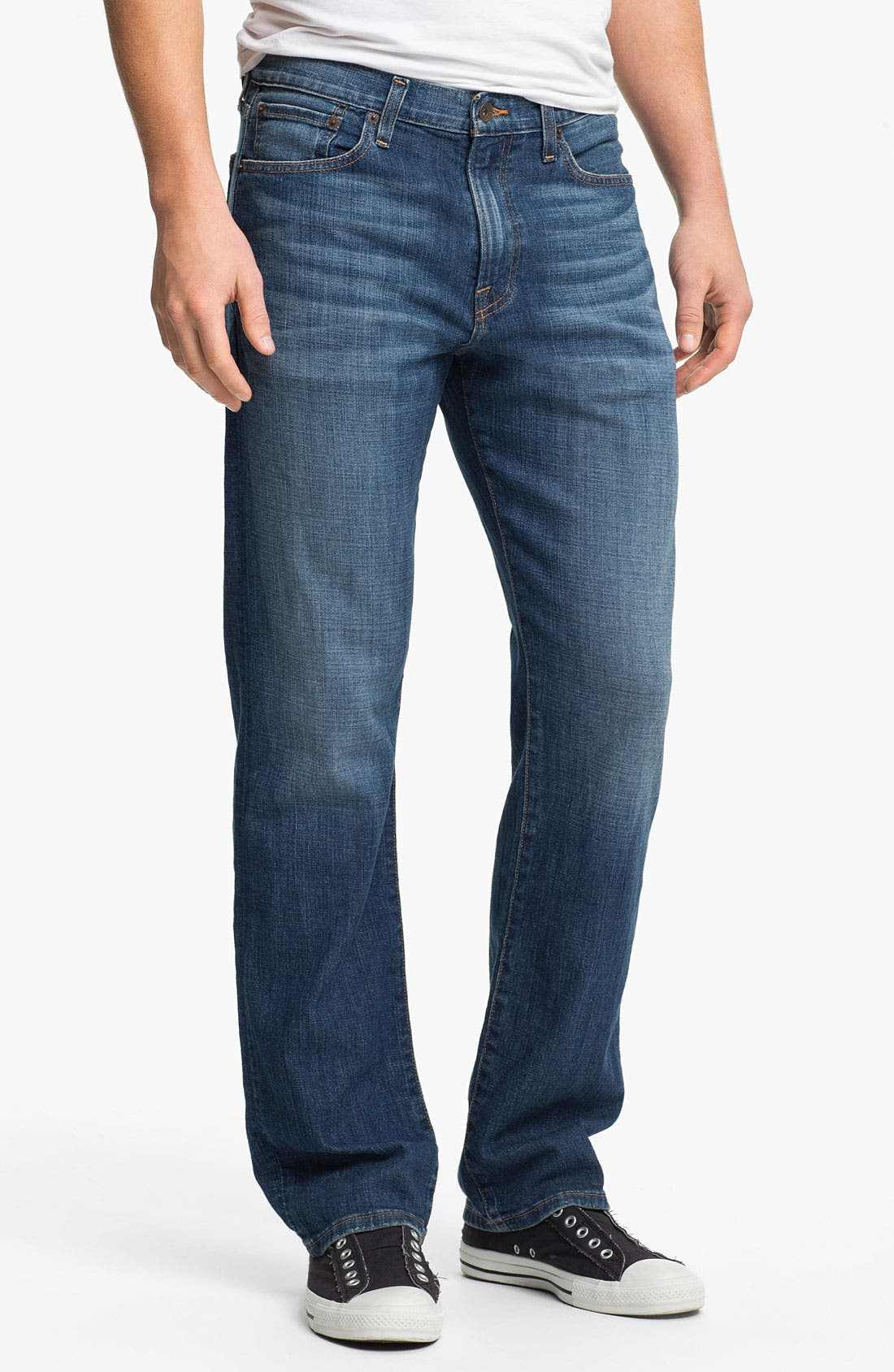 Main Image - Lucky Brand '329 Classic' Straight Leg Jeans (Zenith Point)