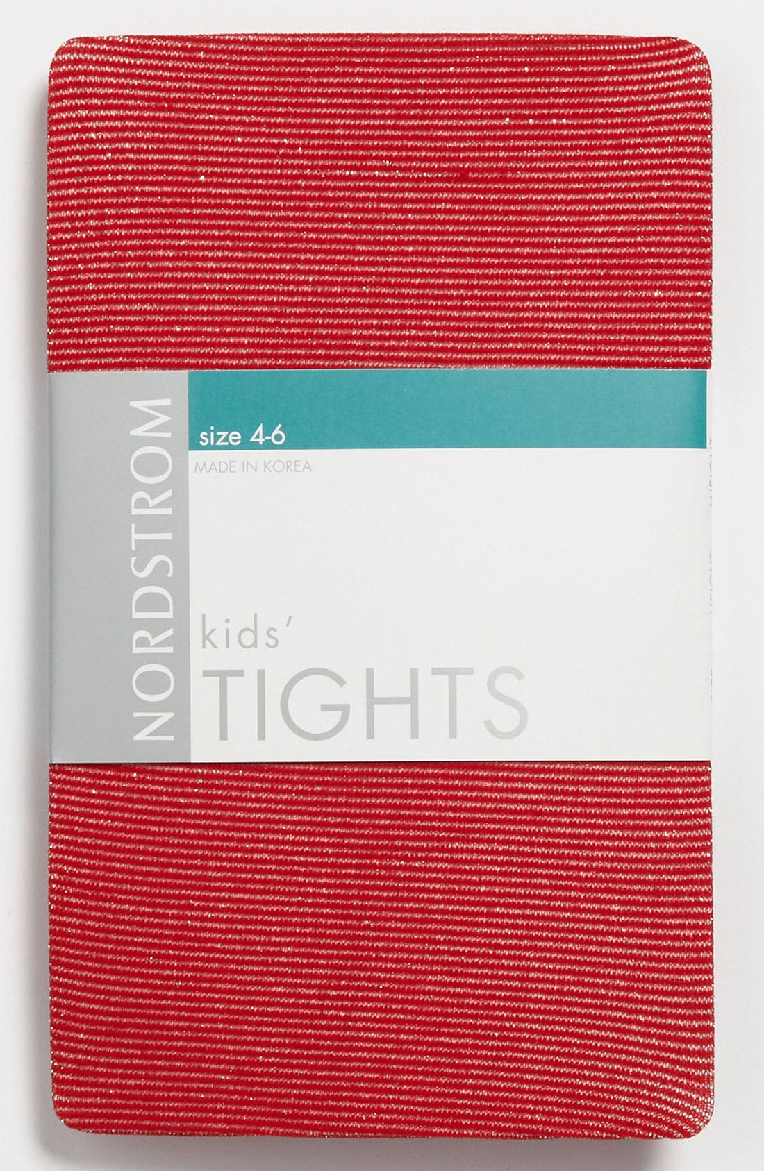 Alternate Image 1 Selected - Nordstrom 'Sparkle Stripe' Tights (Girls)