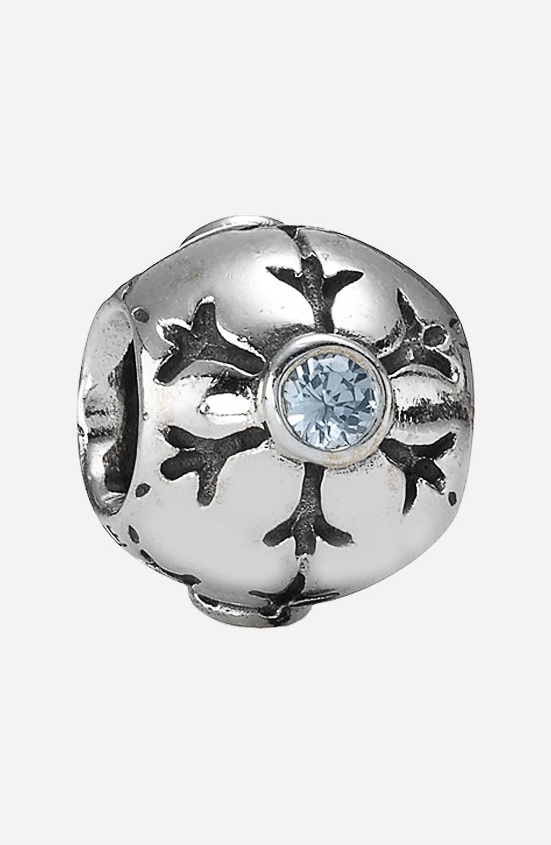 Alternate Image 1 Selected - PANDORA Snowflake Charm