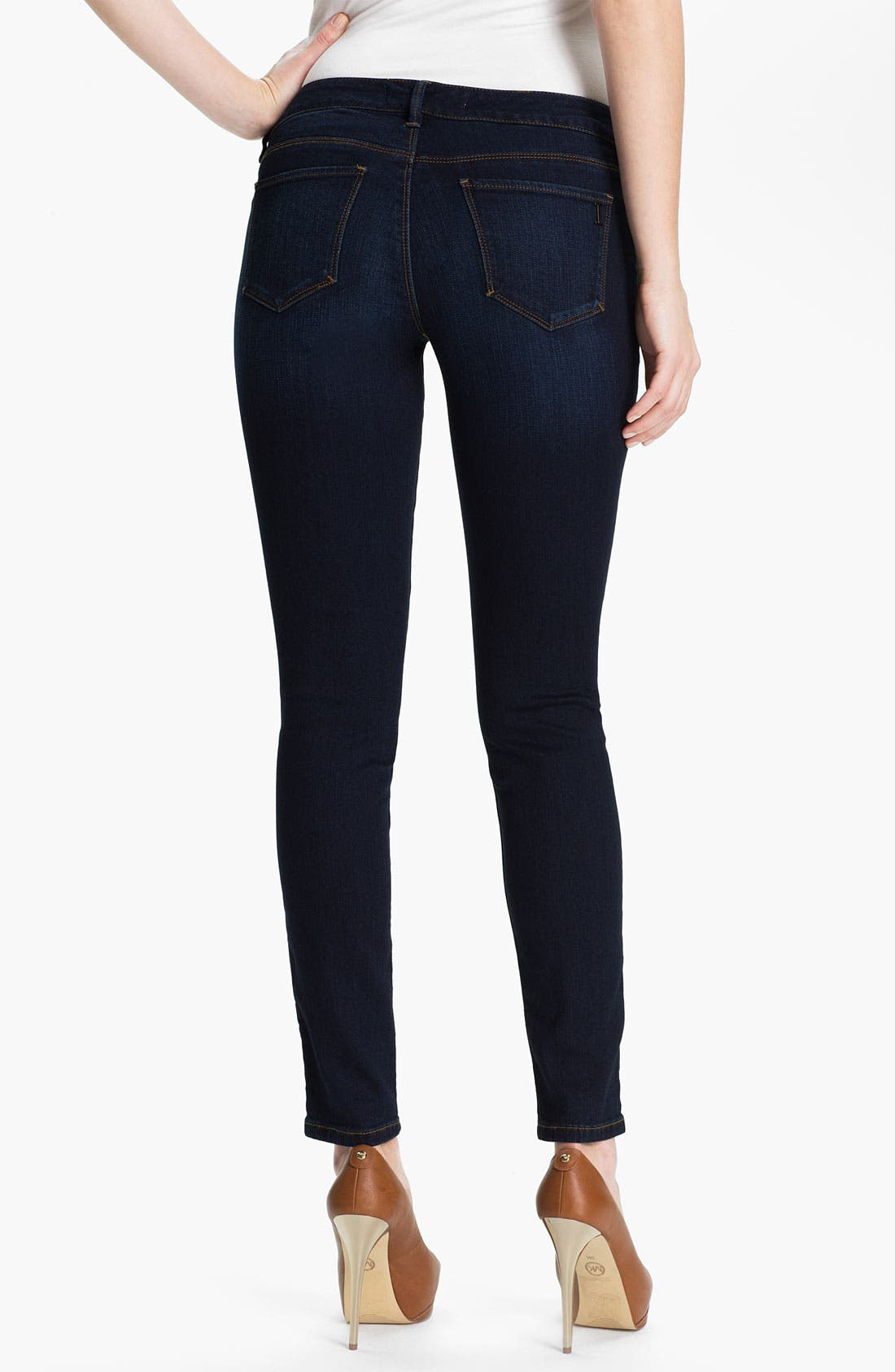 Alternate Image 2  - Isaac Mizrahi Jeans 'Kendall' Denim Leggings