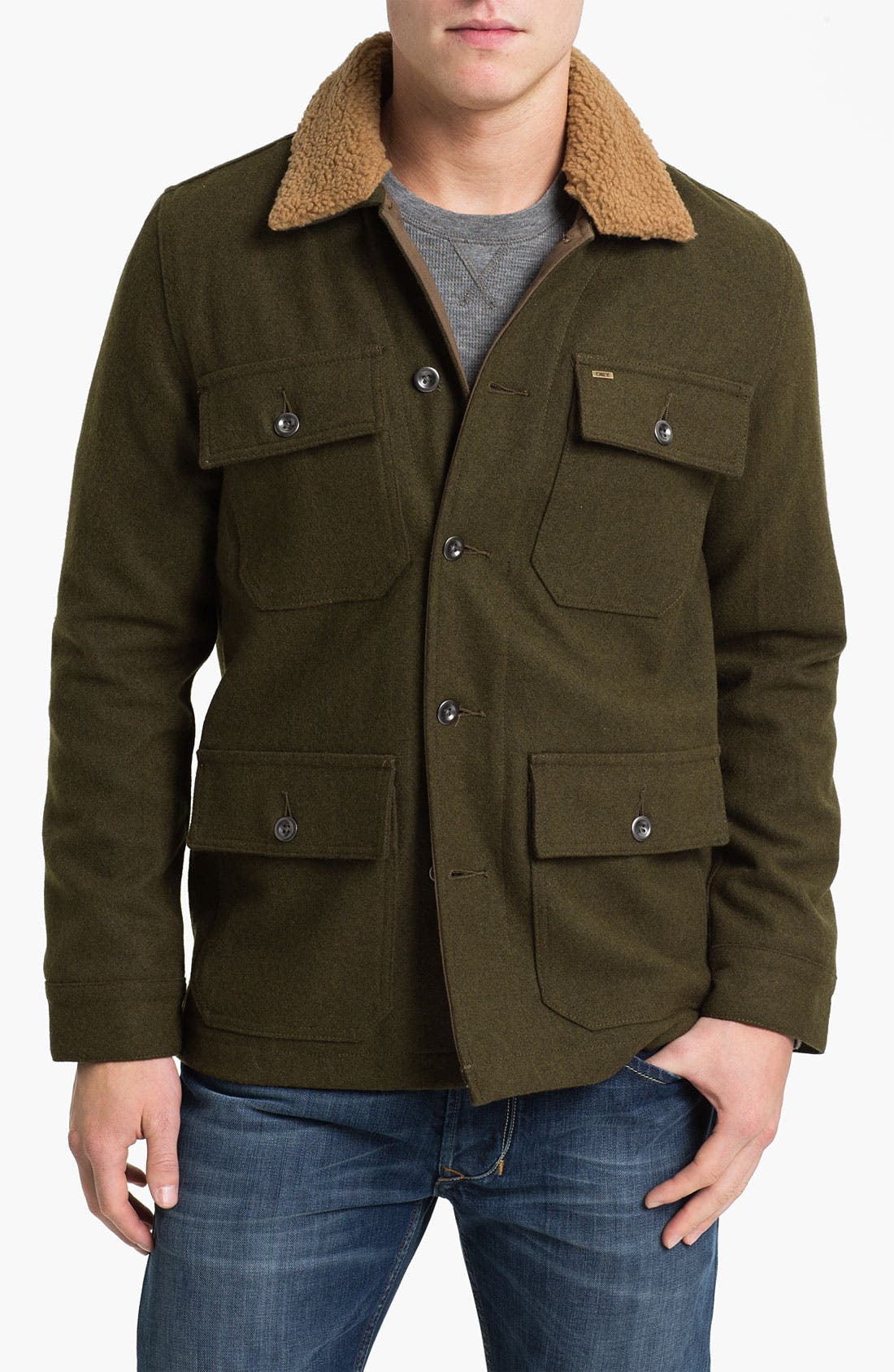 Main Image - Obey 'Winston' Wool Workwear Jacket