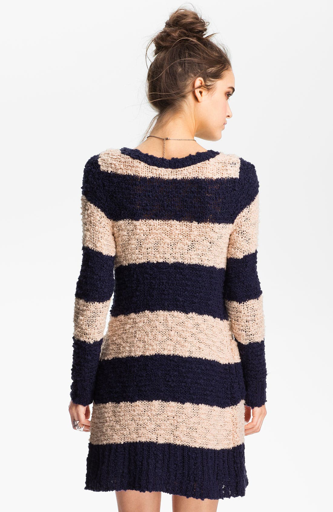 Alternate Image 2  - Free People Stripe Bouclé Cardigan