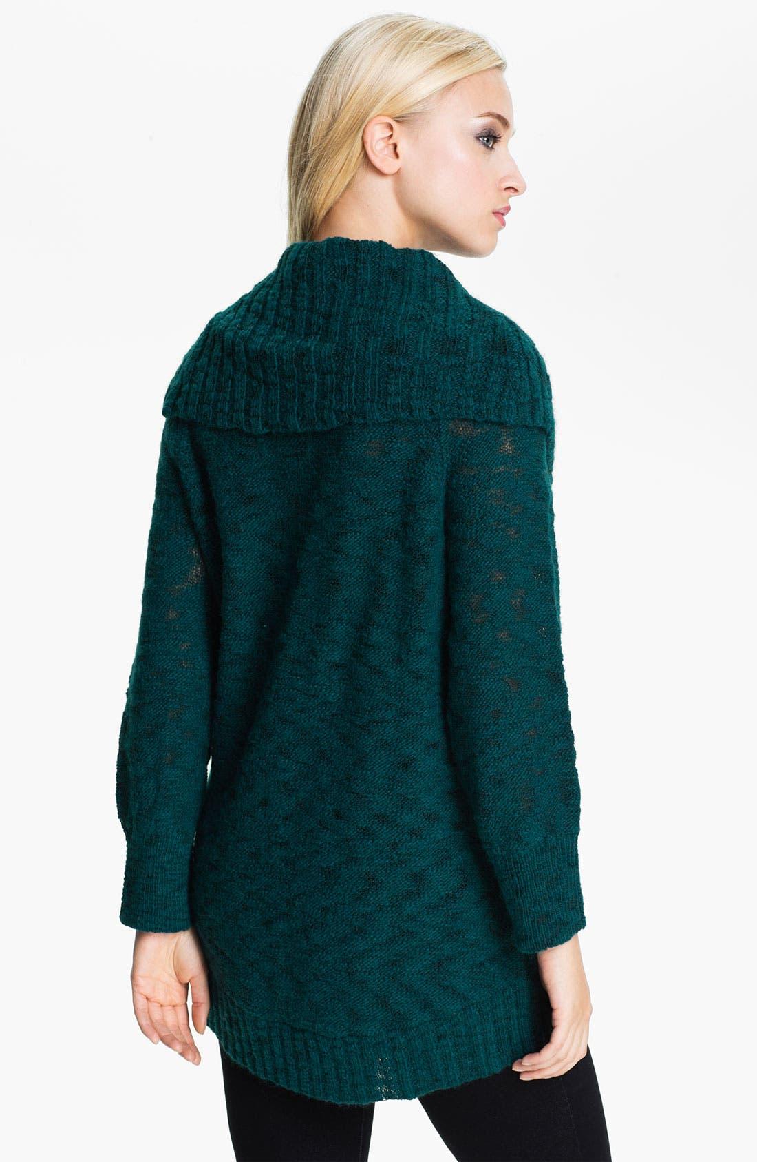 Alternate Image 2  - Holistia 'Carioca Flame' Cowl Neck Sweater