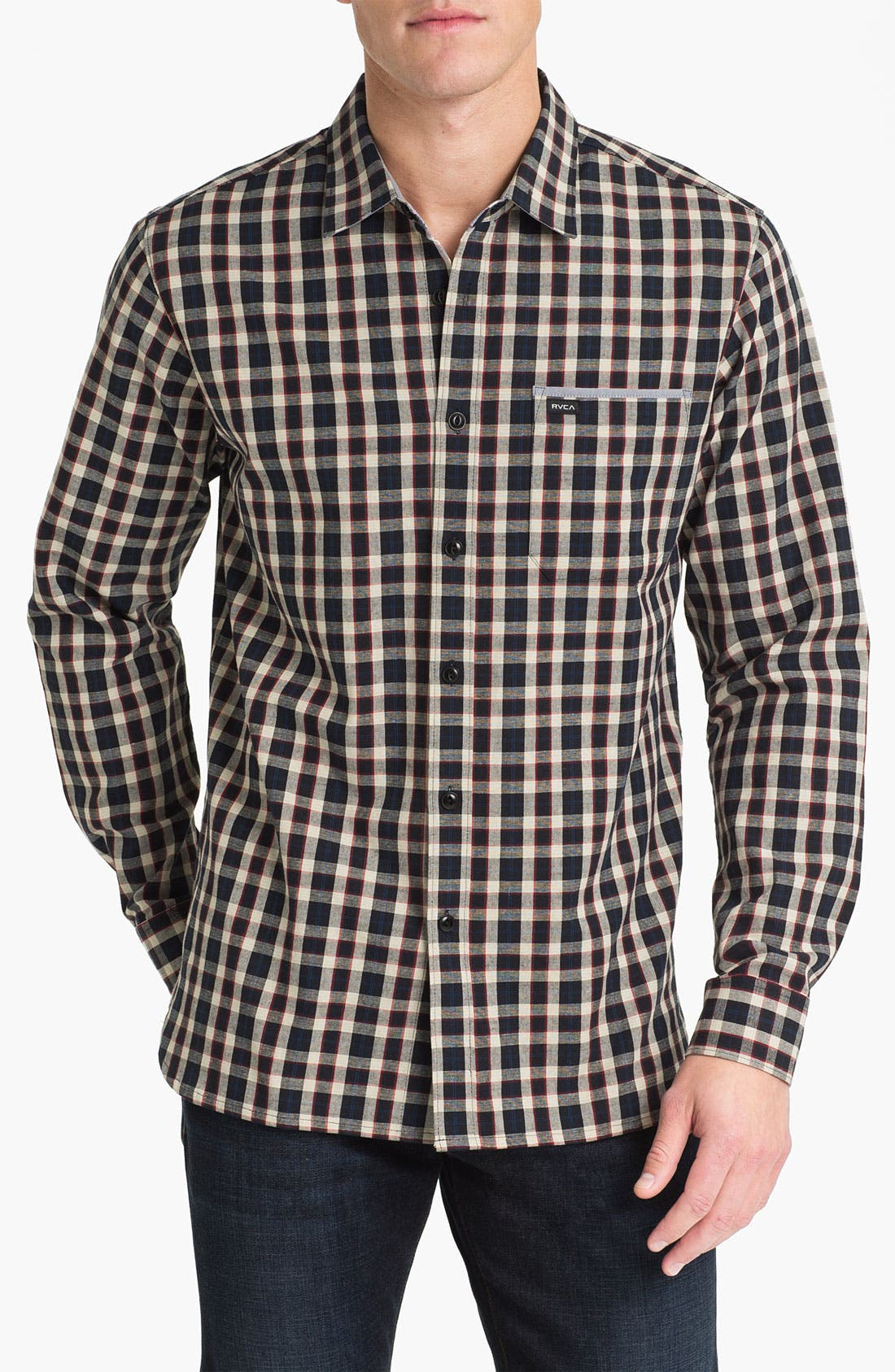 Alternate Image 1 Selected - RVCA 'Portman' Woven Shirt