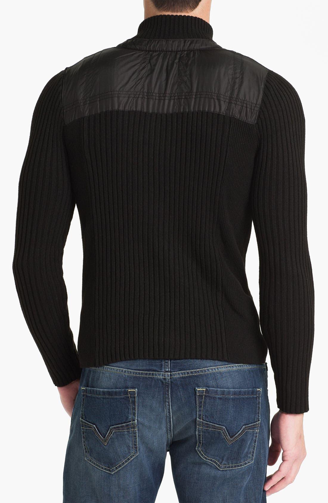 Alternate Image 2  - Paul Black Zip Sweater