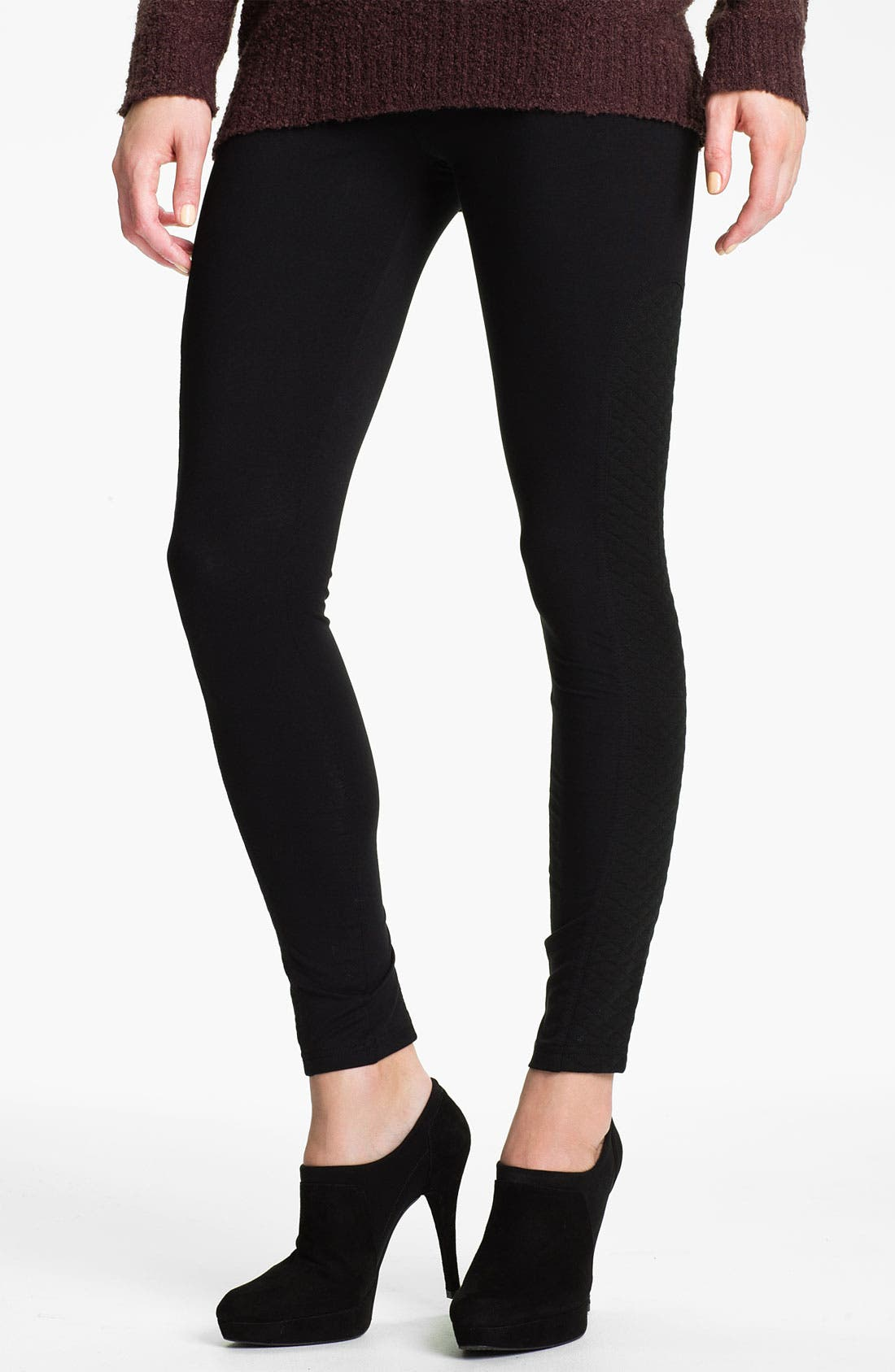 Alternate Image 1 Selected - Nordstrom Quilted Leggings