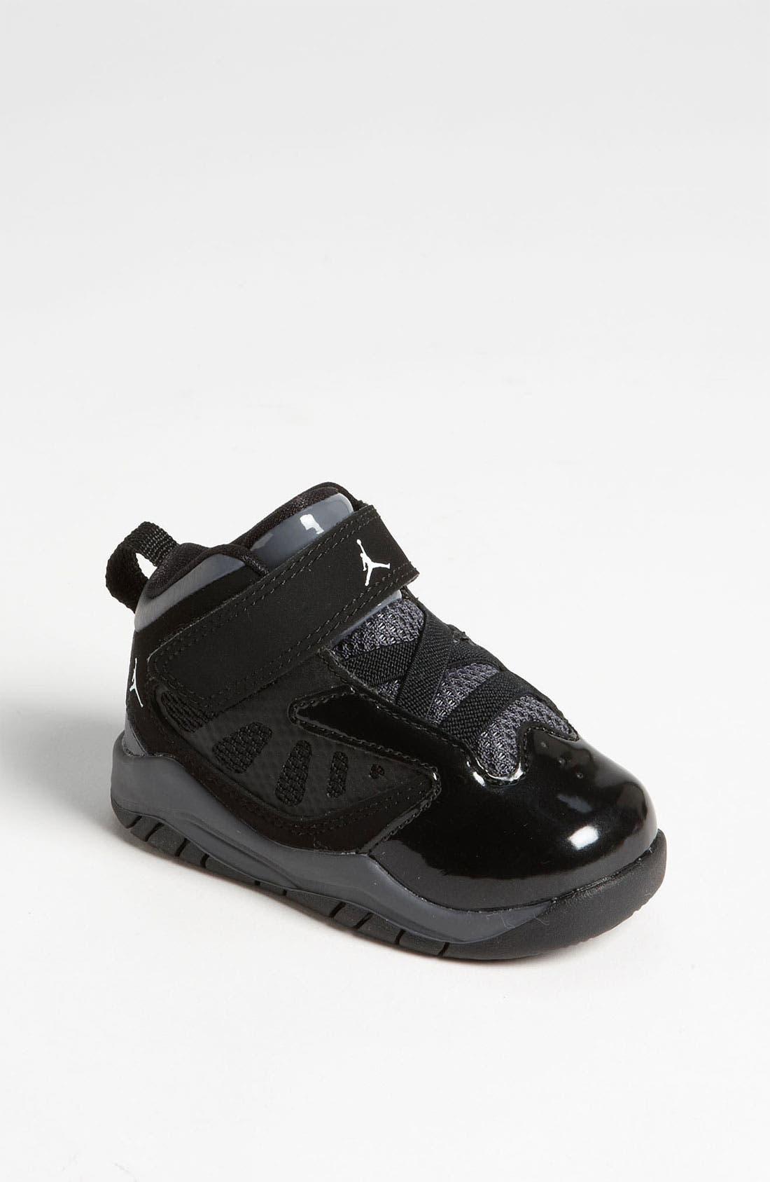 Alternate Image 1 Selected - Nike 'Jordan Flight Team 11' Basketball Shoe (Baby, Walker & Toddler)