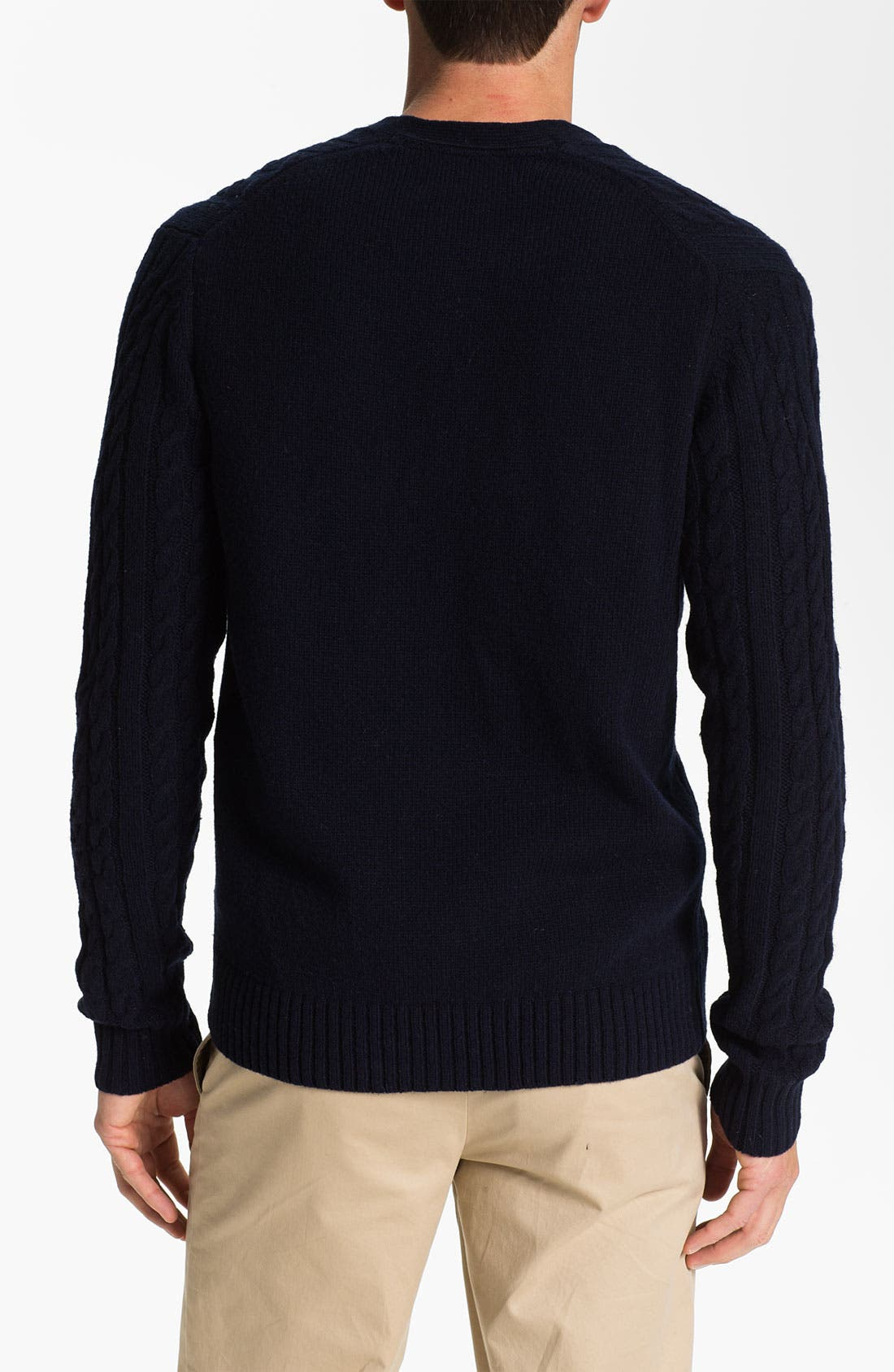 Alternate Image 2  - Ben Sherman Cable Knit Cardigan