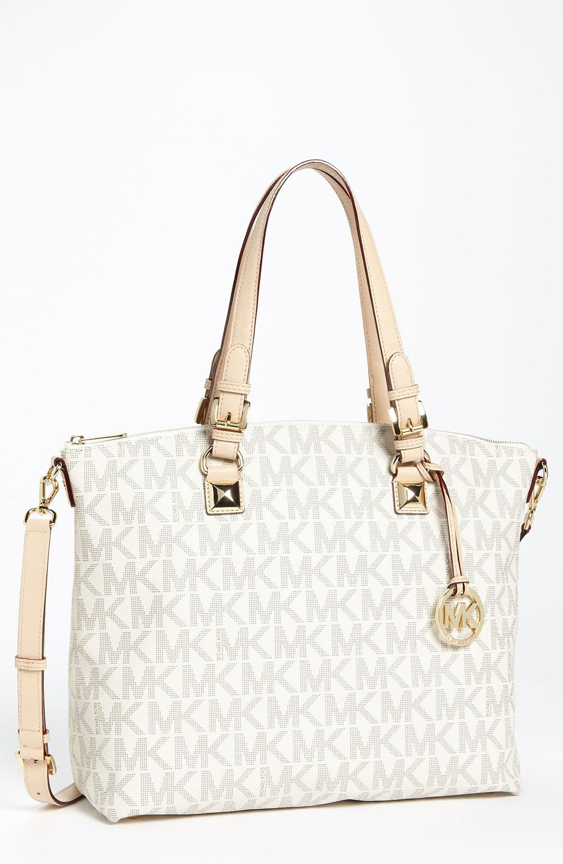 Alternate Image 1 Selected - MICHAEL Michael Kors 'Jet Set - Signature' Tote