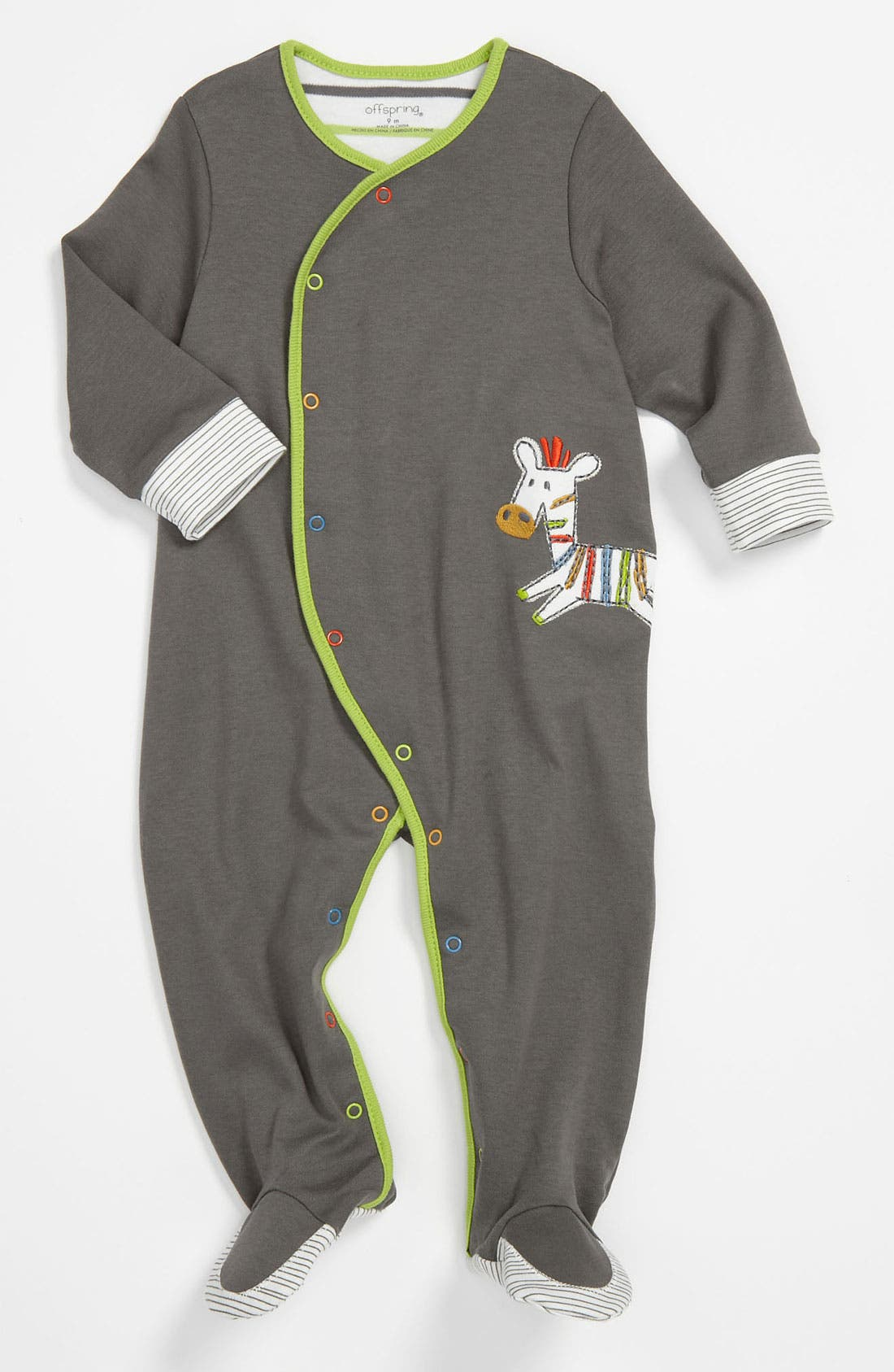 Main Image - Offspring Footie (Infant)