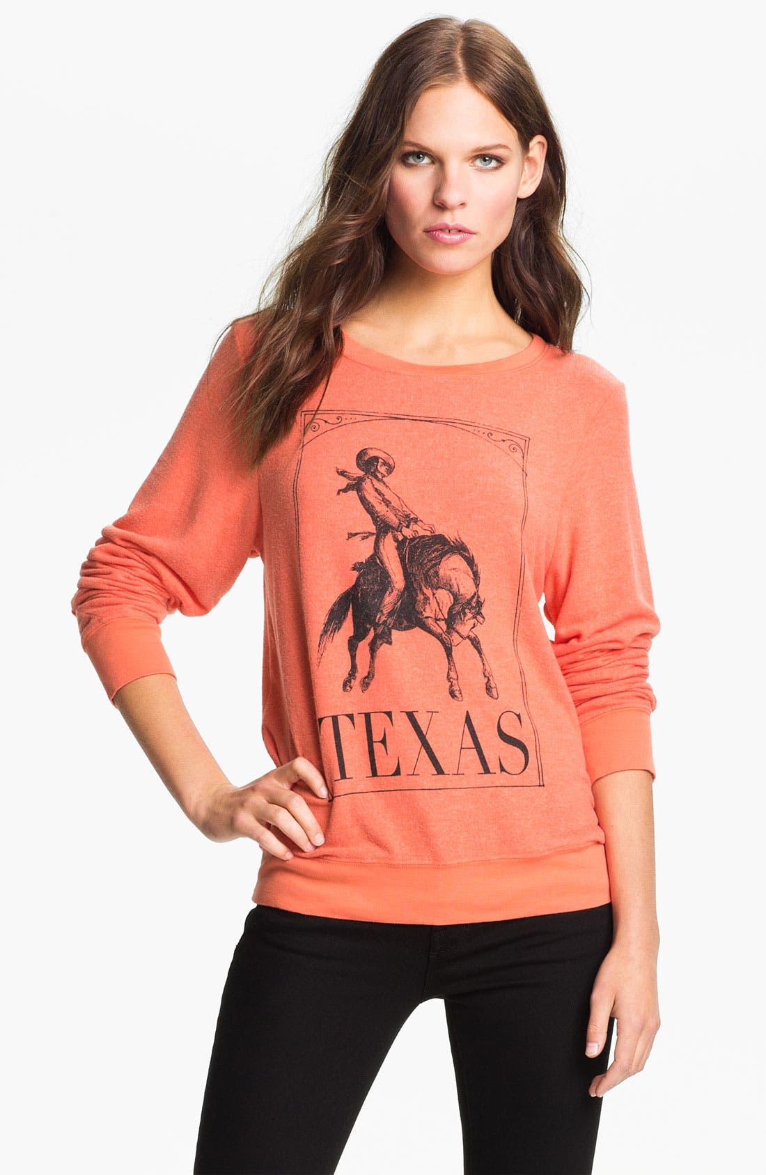 Main Image - Wildfox 'Rodeo Rider' Sweatshirt
