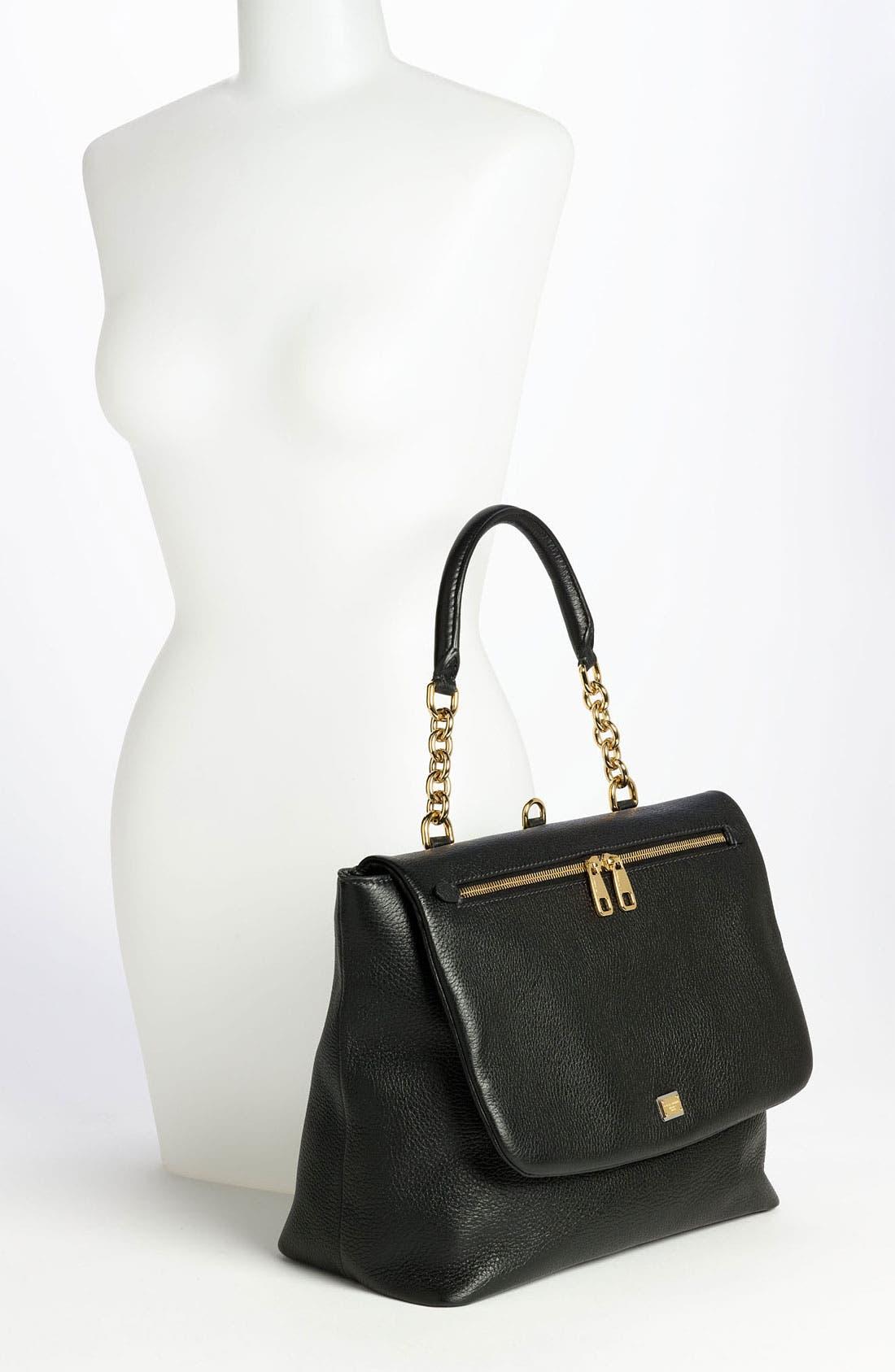 Alternate Image 2  - Dolce&Gabbana 'Miss Emma' Leather Shoulder Bag