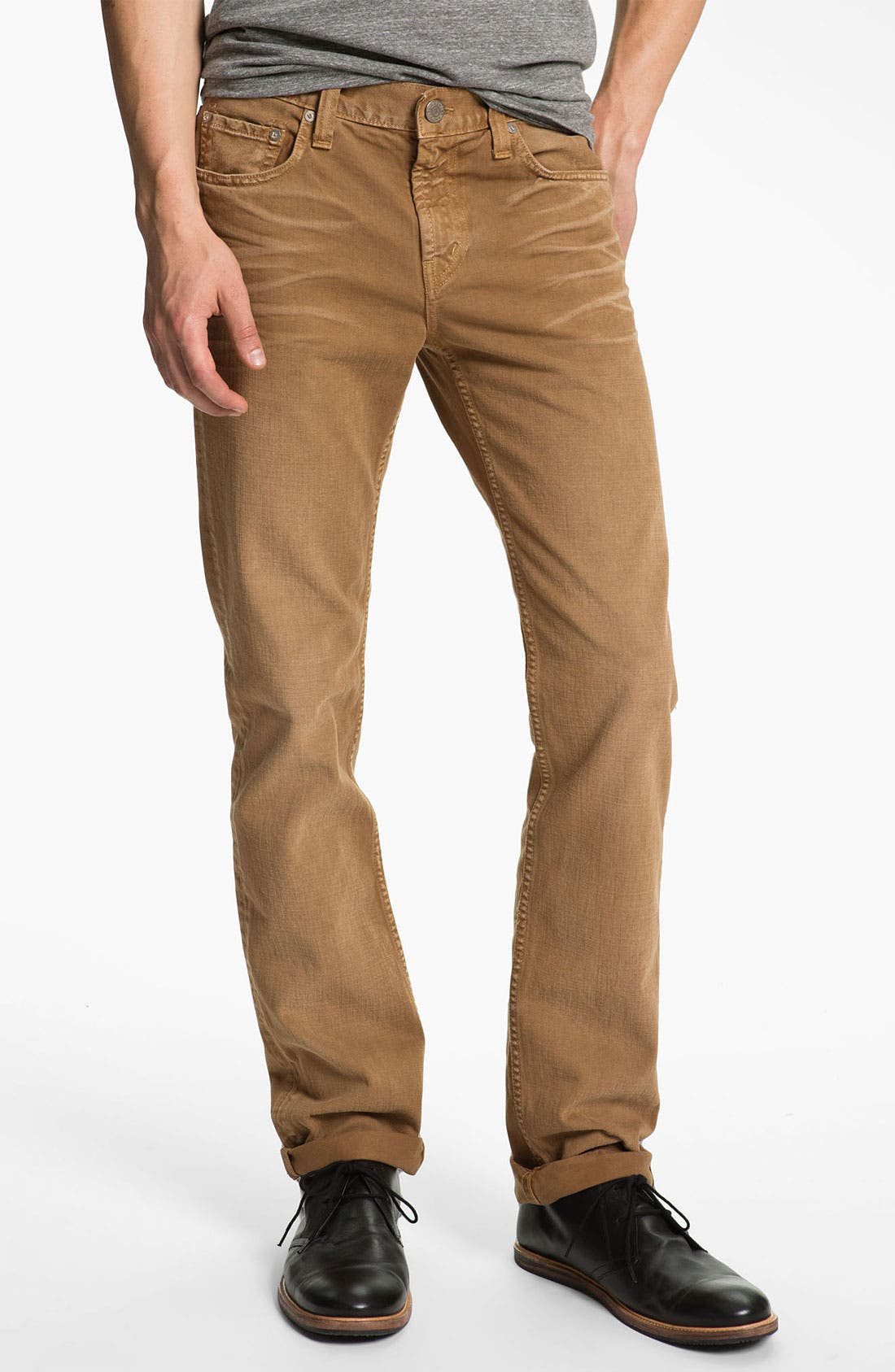 Alternate Image 2  - J Brand 'Kane' Slim Straight Leg Jeans (Weathered Timber) (Save Now through 12/9)