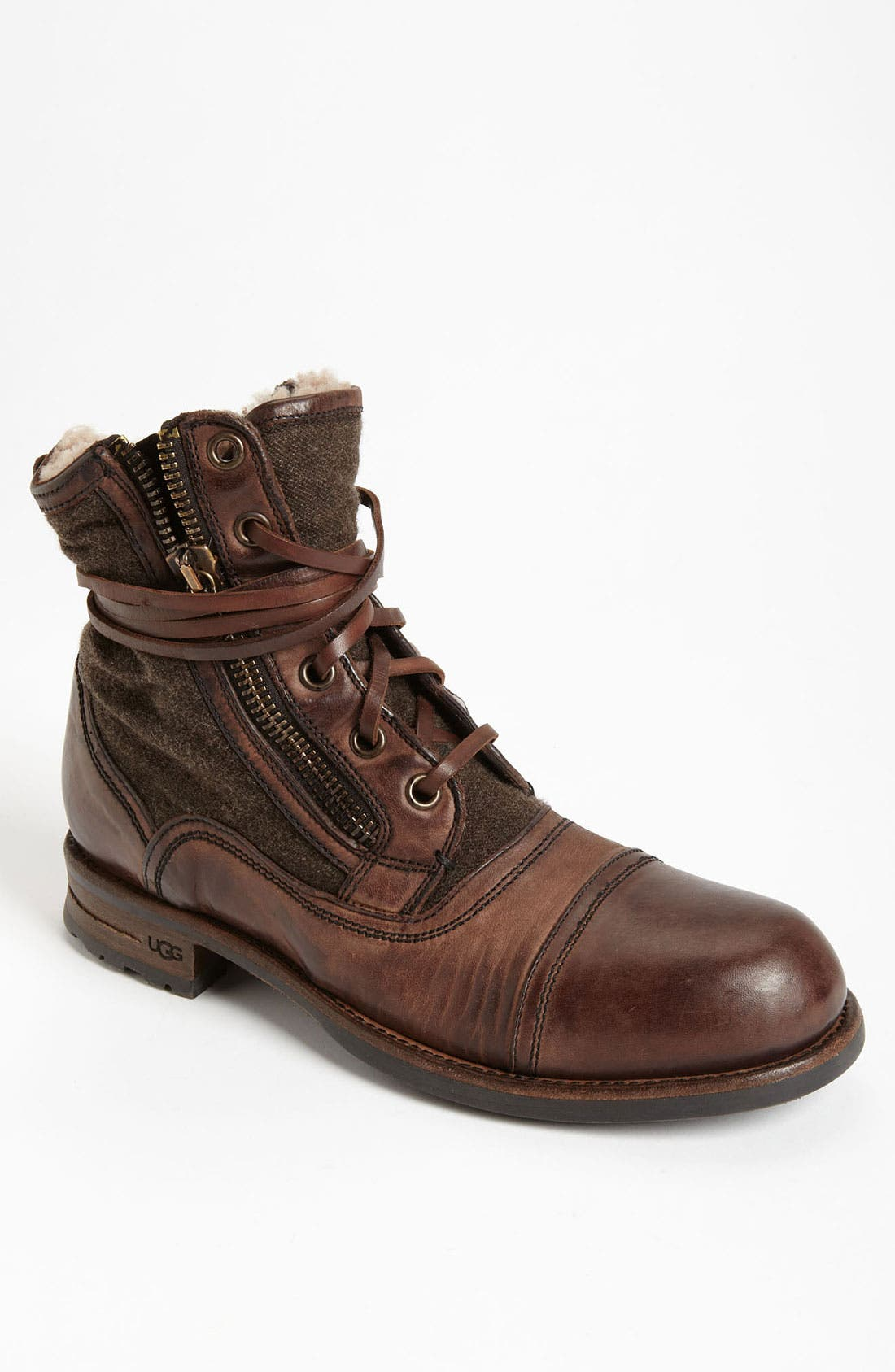 Alternate Image 1 Selected - UGG® Collection 'Tonio' Cap Toe Boot (Men)