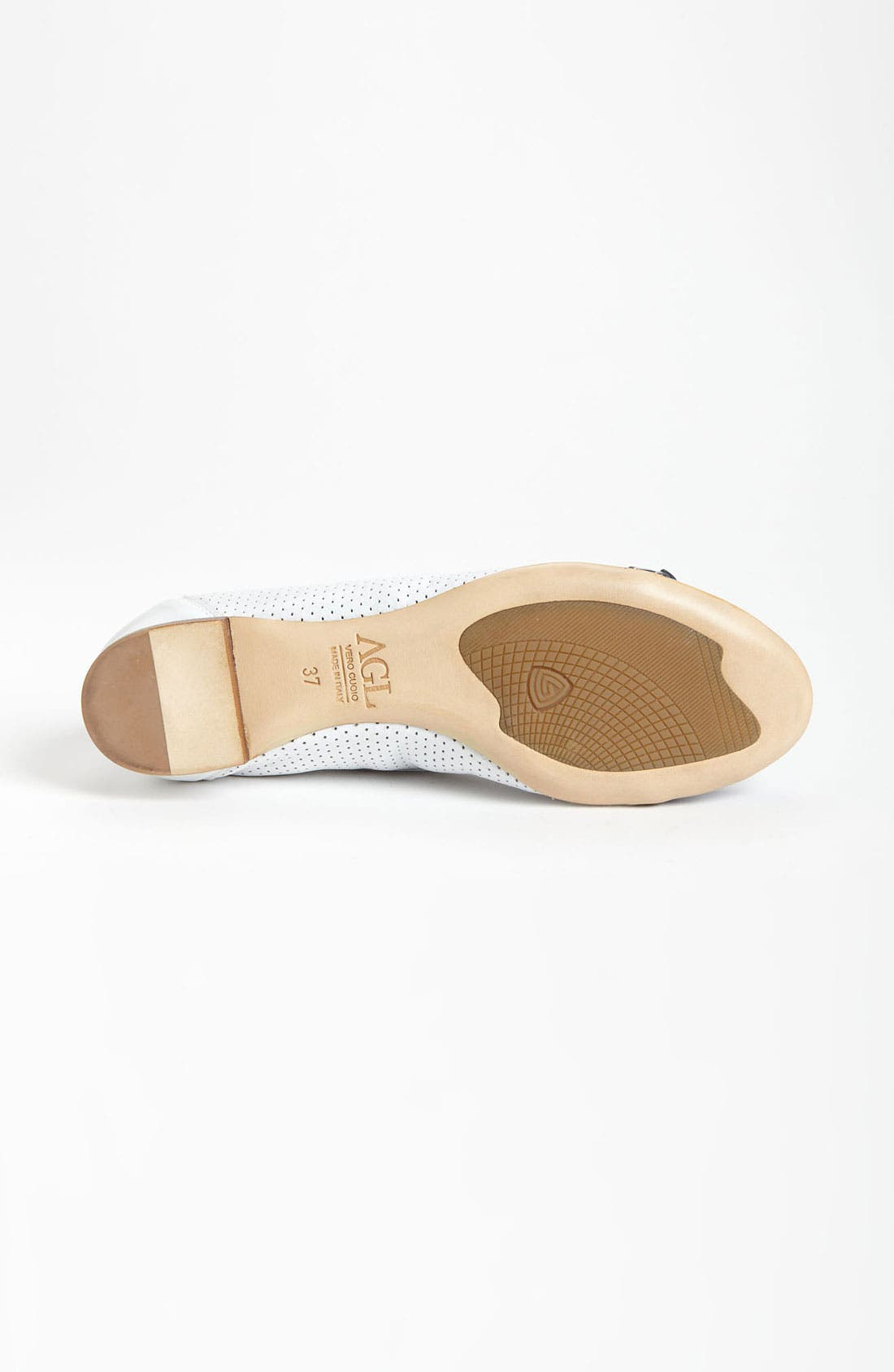 Alternate Image 4  - Attilio Giusti Leombruni Perforated Toe Cap Ballet Flat