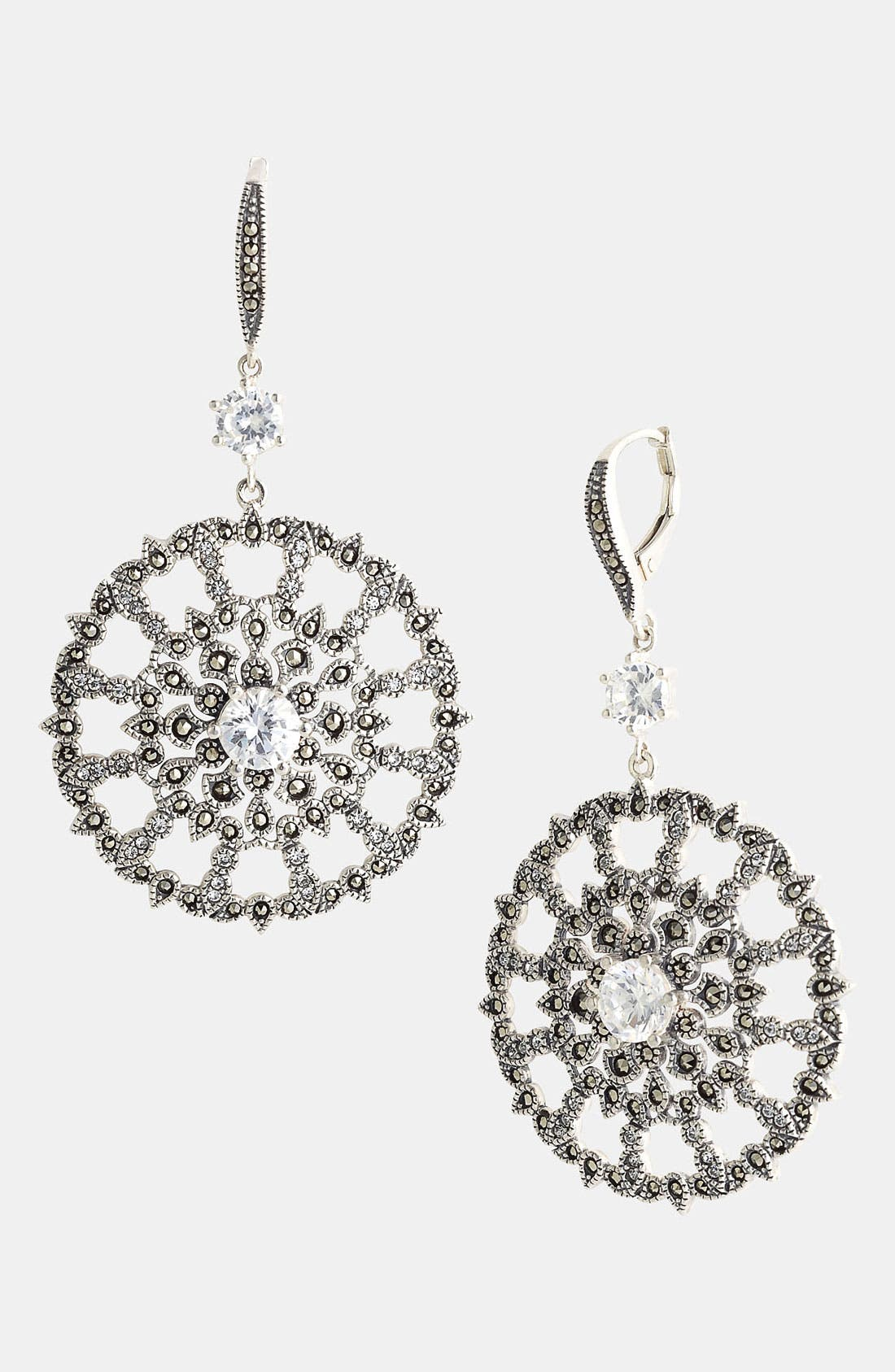 Main Image - Judith Jack 'Glamour' Drop Earrings